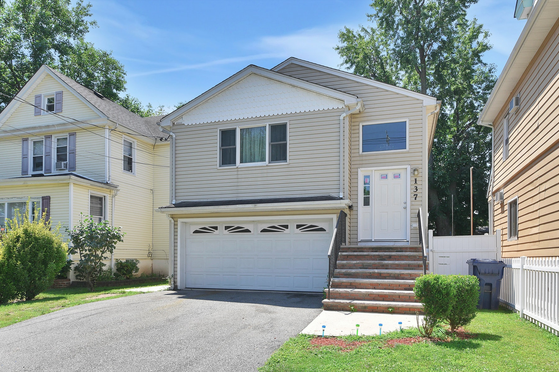 Multi-Family Homes for Sale at Roomy Two Family Home 137 Berry Street, Hackensack, New Jersey 07601 United States