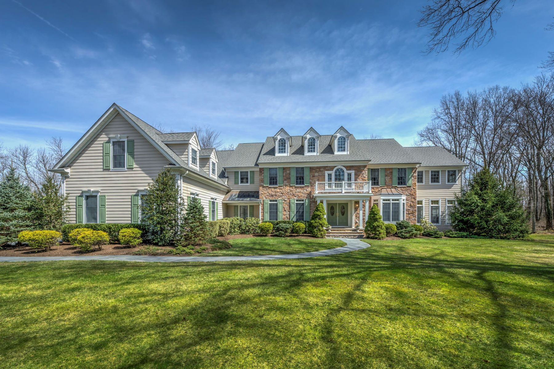 Single Family Homes for Sale at The Best Of Everyday Life 30 Birchwood Drive, Princeton, New Jersey 08540 United States