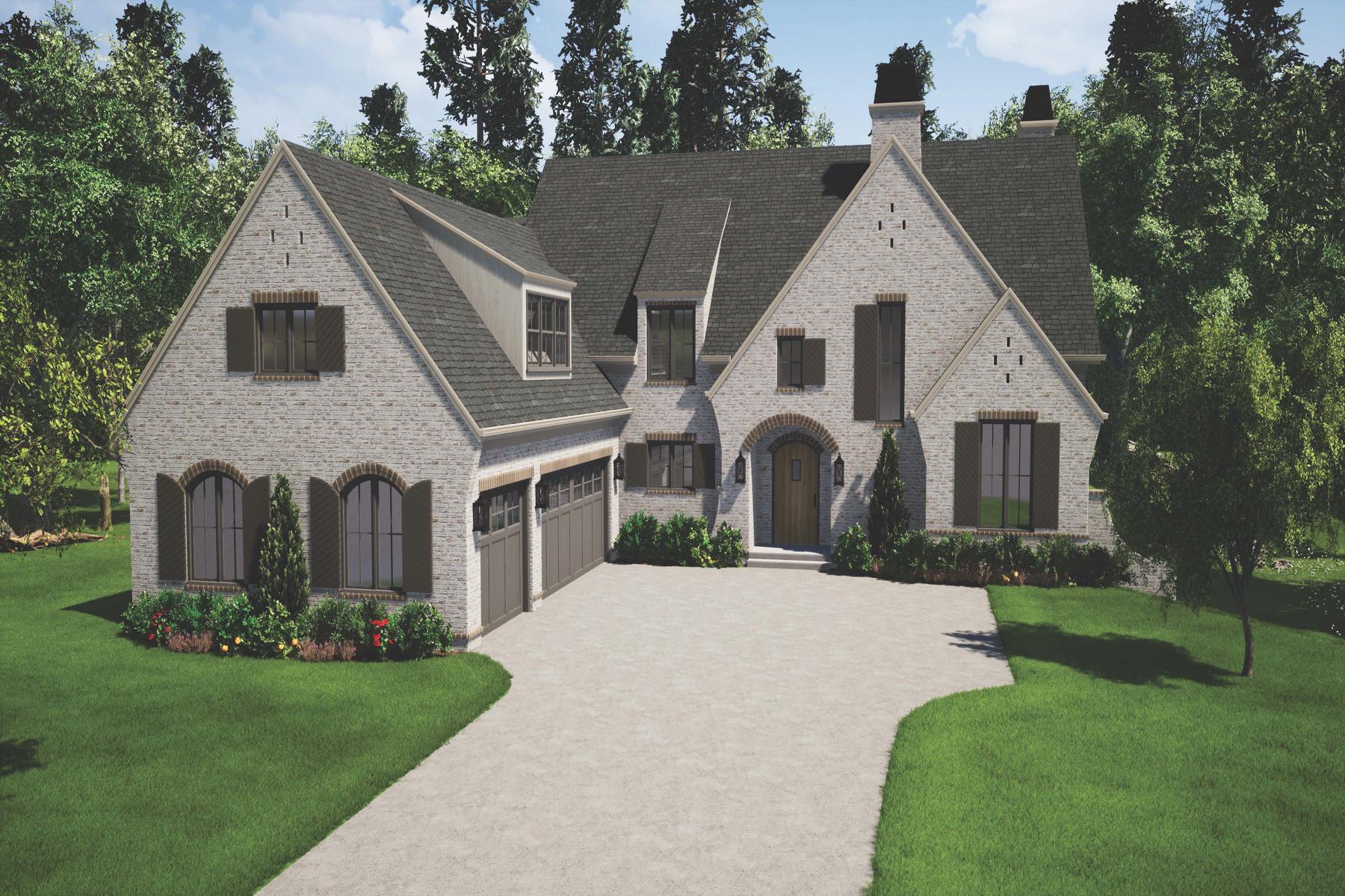 Single Family Homes por un Venta en The Manor Cottages 3585 Granton Street, Alpharetta, Georgia 30004 Estados Unidos