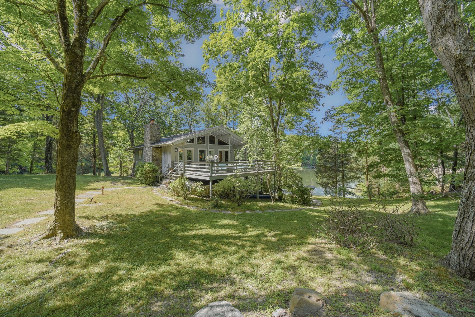 Farm and Ranch Properties for Sale at Family Farm Compound - Three Separate Homes with Private Lake on 142 Acres! 17-A Silver Lake Road, Frelinghuysen Township, New Jersey 07825 United States