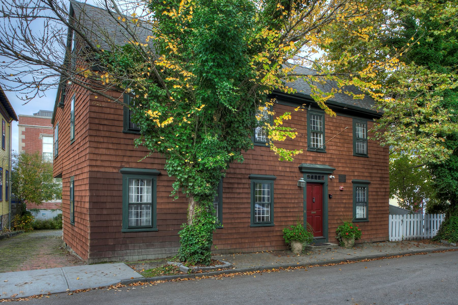 Single Family Homes for Sale at The Melville House 39 Clarke Street Newport, Rhode Island 02840 United States
