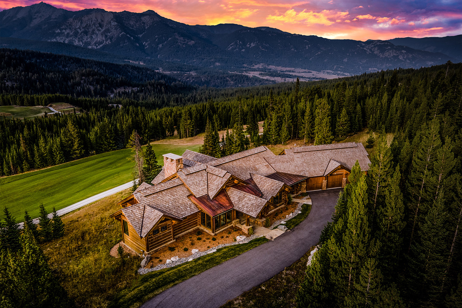 Single Family Homes for Sale at 379 Mountain Valley Trail Big Sky, Montana 59716 United States