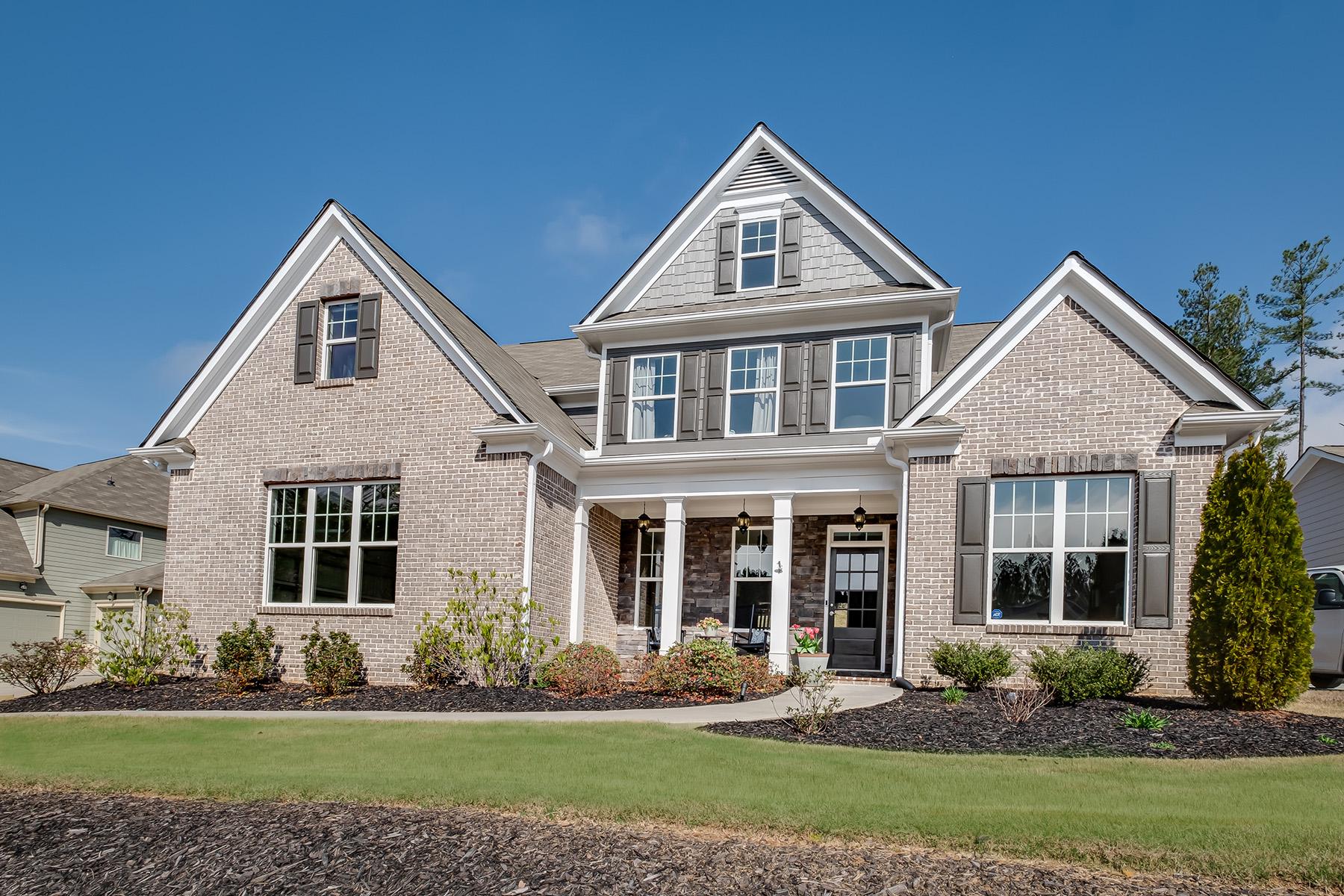 Single Family Homes 为 销售 在 Entertainer's Dream in Dallas 78 Grace Arbor Lane, 达拉斯, 乔治亚州 30132 美国