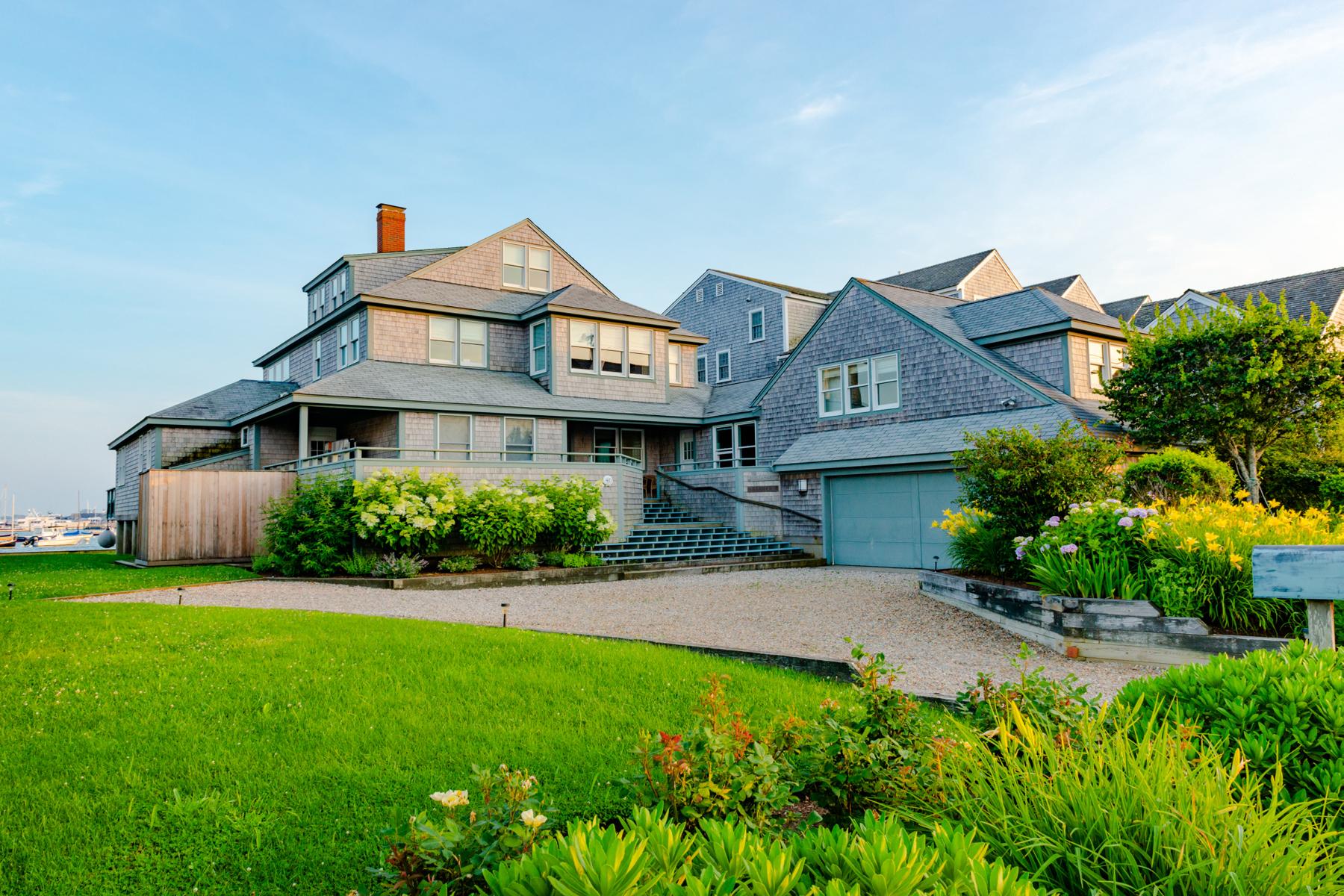 Single Family Homes por un Venta en Ultimate Nantucket Water Front 40 Easton Street Nantucket, Massachusetts 02554 Estados Unidos
