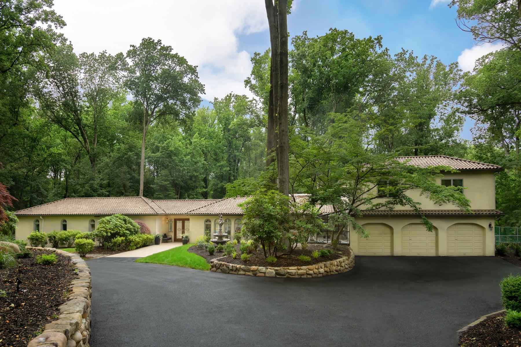 Single Family Homes para Venda às True Haven 1121 Winding Drive, Cherry Hill, Nova Jersey 08003 Estados Unidos