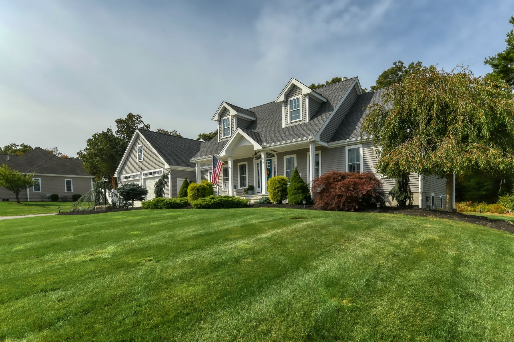 Single Family Homes for Sale at Custom Cape on Quiet Cul-de-sac 15 Stella Lane Westport, Massachusetts 02790 United States