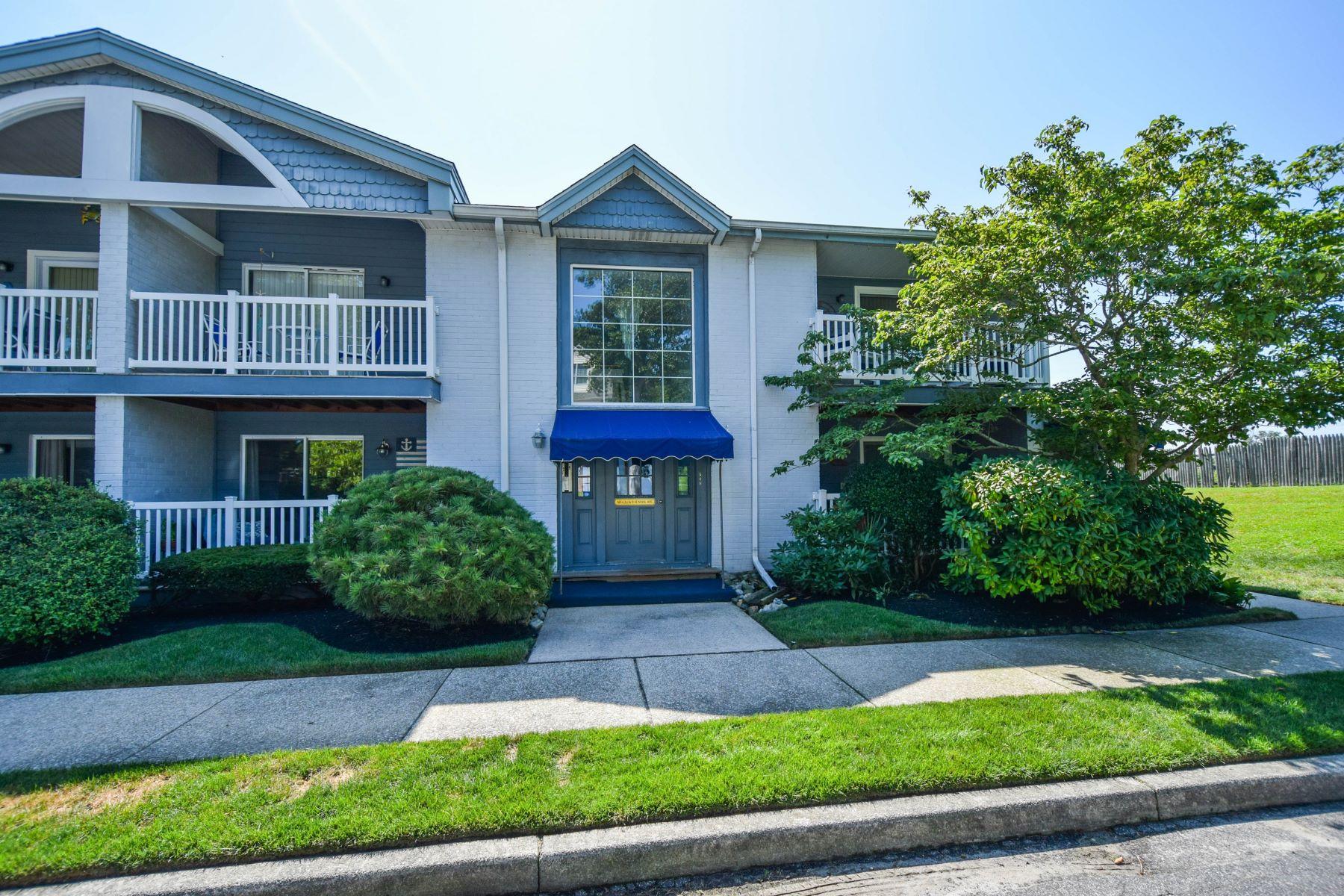 Condominiums pour l Vente à Harbour View 542 Sunrise Ave, Unit 542, Somers Point, New Jersey 08244 États-Unis