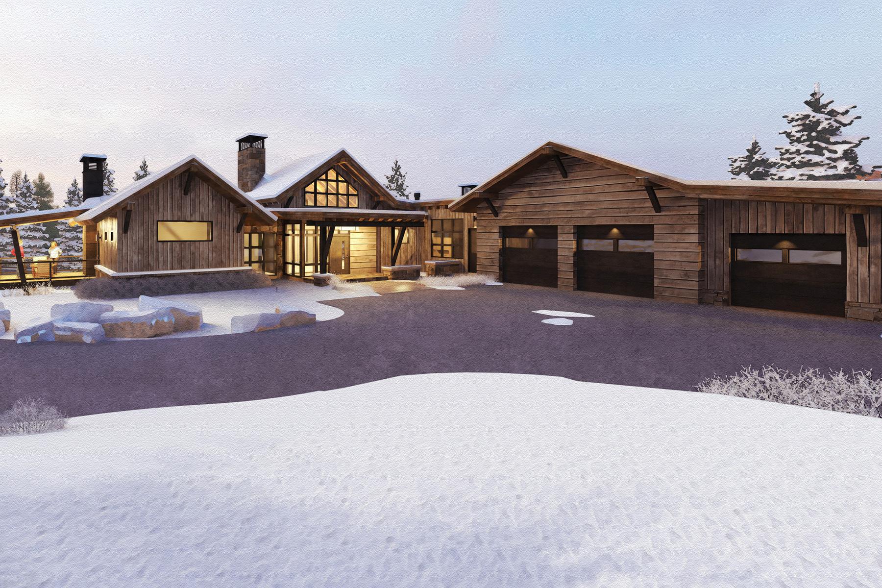 Single Family Homes for Sale at Spanish Peaks Mountain Club Elkridge Lot 57 Lot 57 Goshawk Trail Big Sky, Montana 59716 United States
