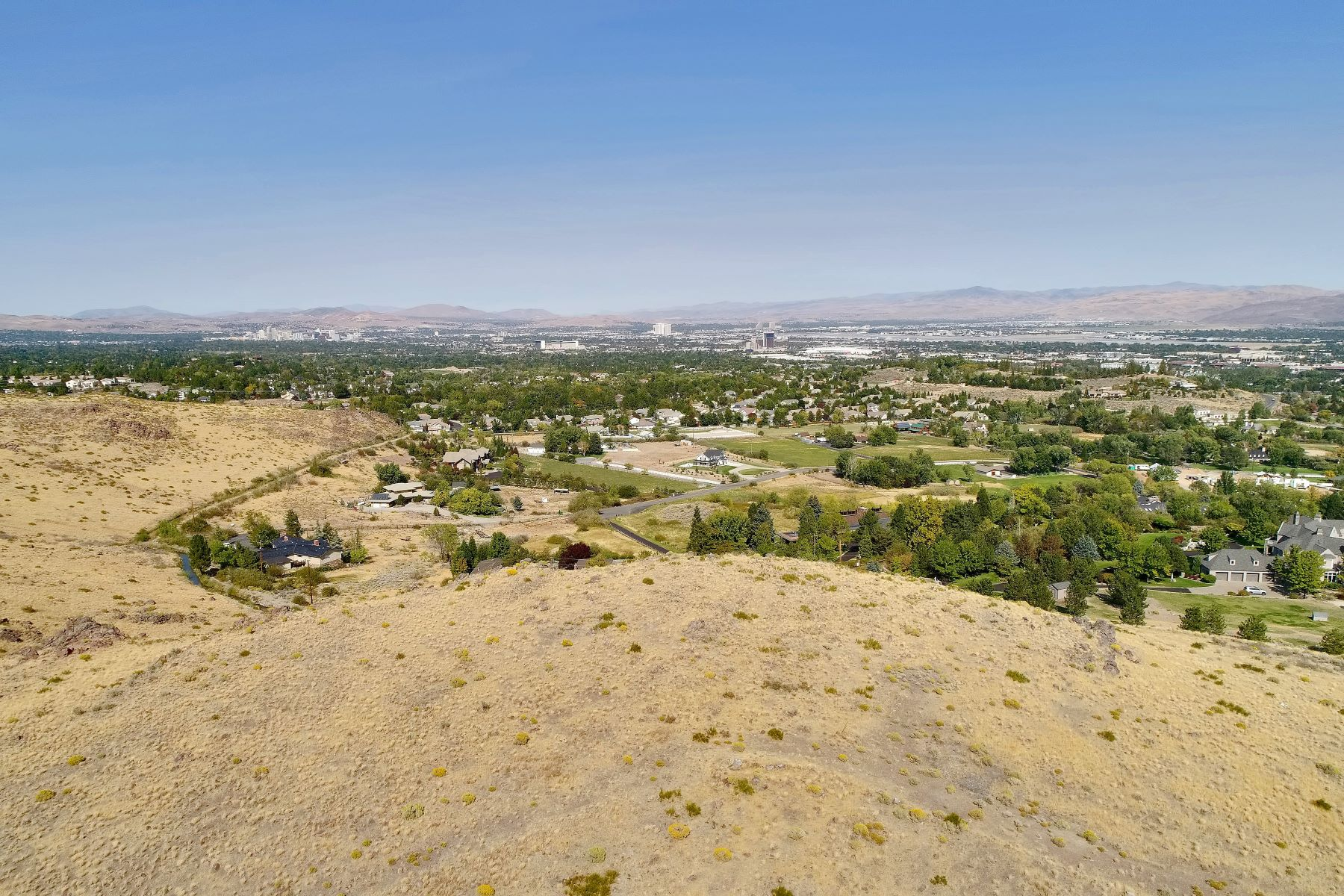 Land for Active at Incredible Hilltop View Parcel 0 Faretto/Anitra Drive Reno, Nevada 89511 United States