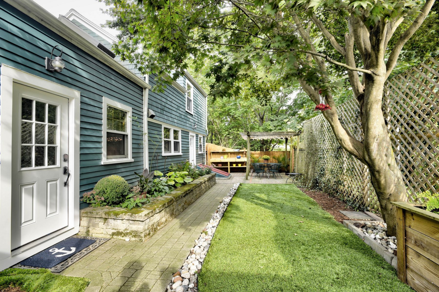 Single Family Homes for Sale at Charming Cottage on The Point 5 & 5 1/2 Gladding Court Newport, Rhode Island 02840 United States