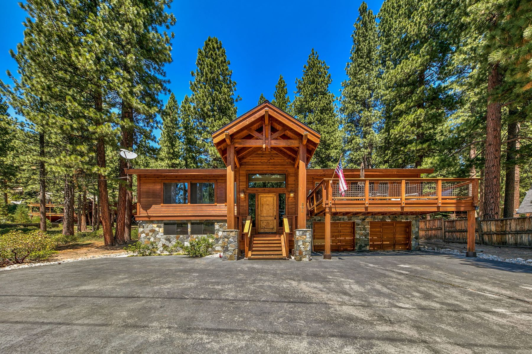 Single Family Homes for Active at Stunning Lake Tahoe Home 564 Ponderosa Incline Village, Nevada 89451 United States