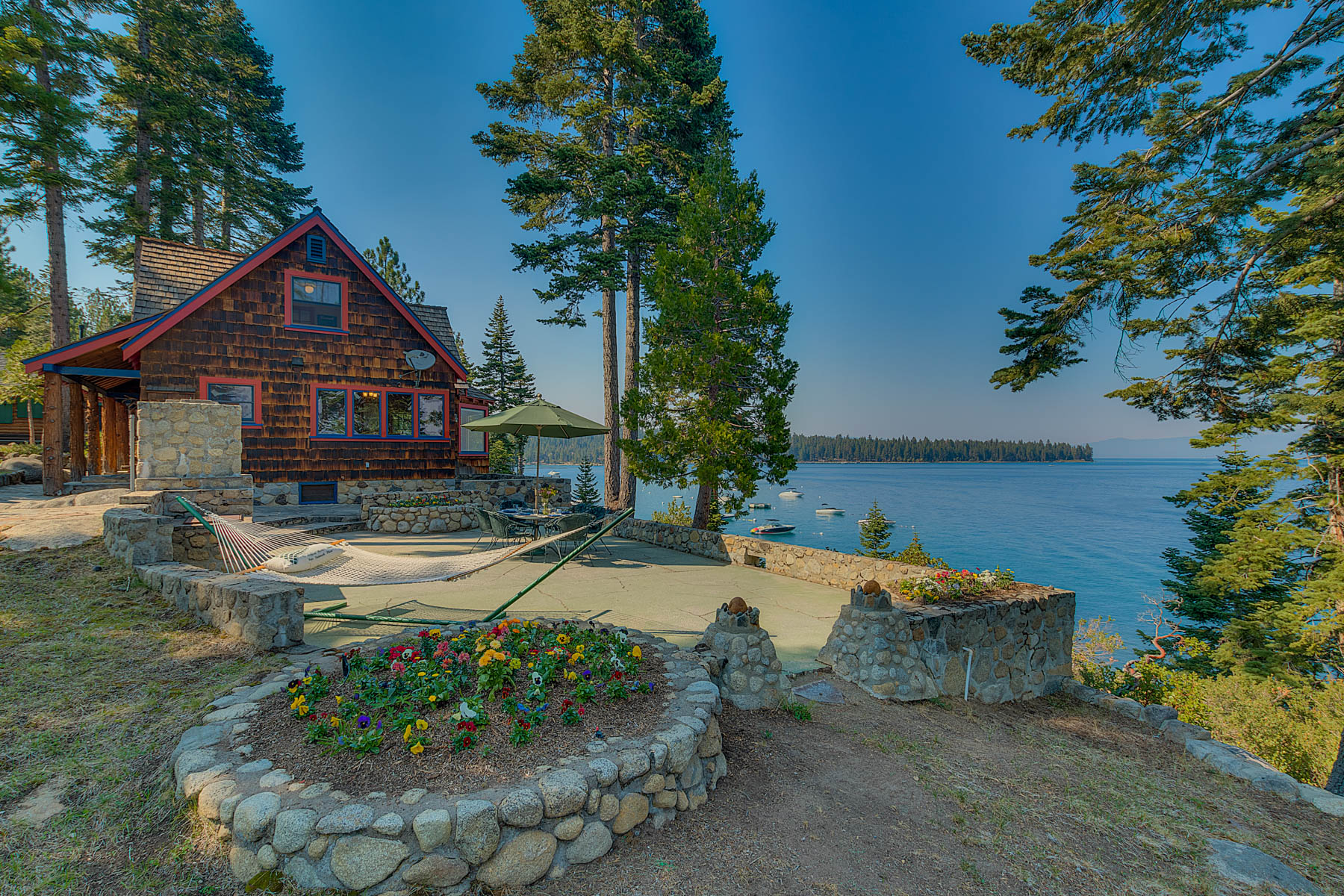 Single Family Homes for Active at Boulder Point on Meeks Bay 8307 Meeks Bay Avenue Tahoma, California 96142 United States