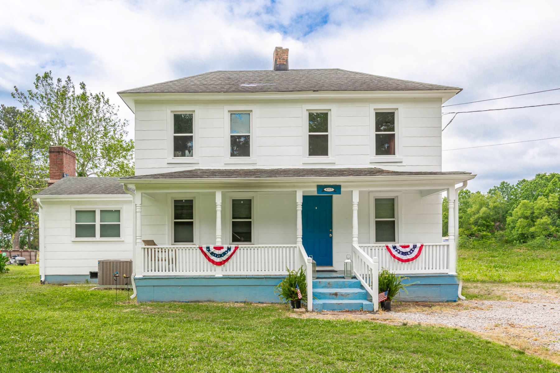 Single Family Homes för Försäljning vid Bowers Hill 4333 East Road, Chesapeake, Virginia 23321 Förenta staterna