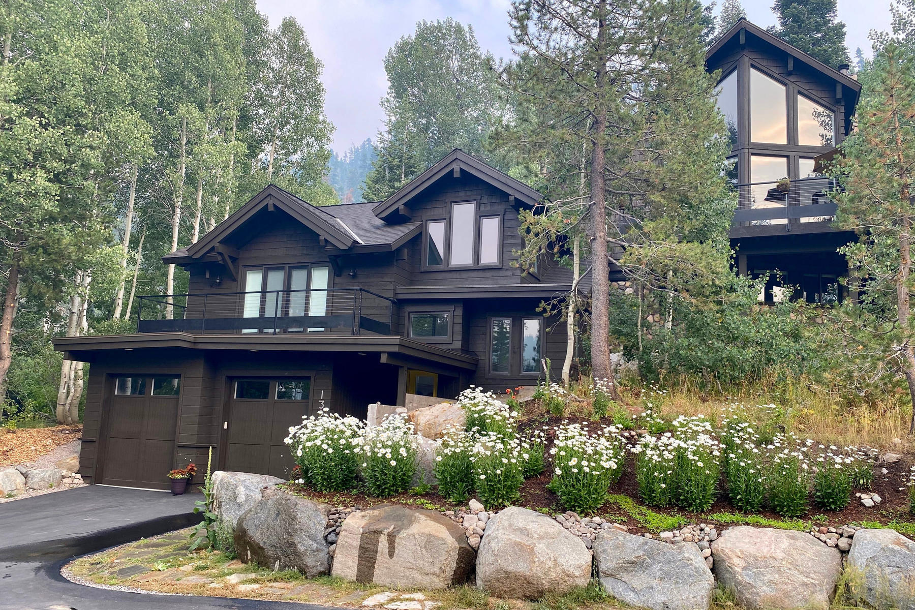 Single Family Homes for Active at Alpine Meadows Scandinavian Modern 1329 Pine Trail Alpine Meadows, California 96146 United States