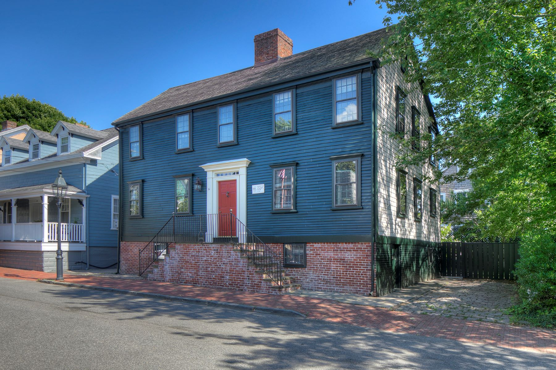 Single Family Homes for Sale at William Claggett House 16 Bridge Street Newport, Rhode Island 02840 United States