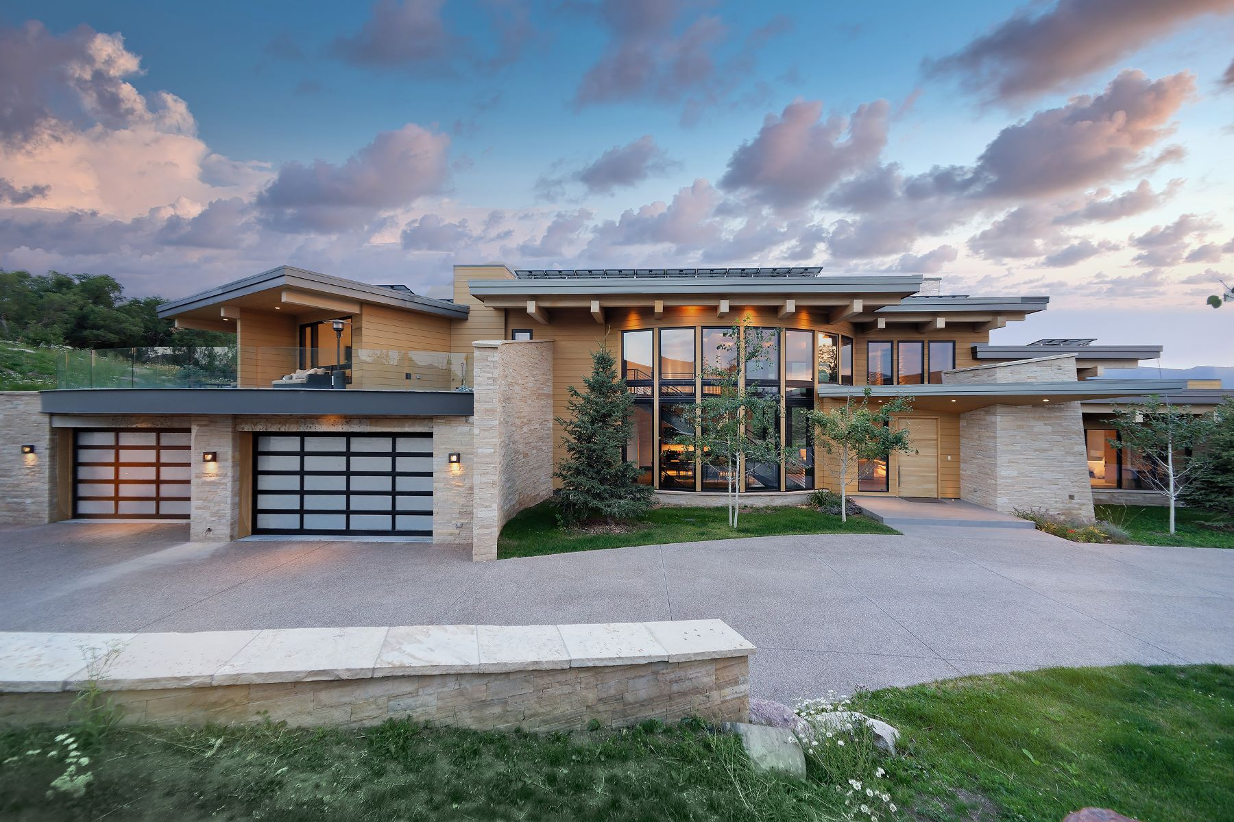 Single Family Homes for Sale at West Buttermilk Masterpiece 1422 West Buttermilk Road Aspen, Colorado 81611 United States