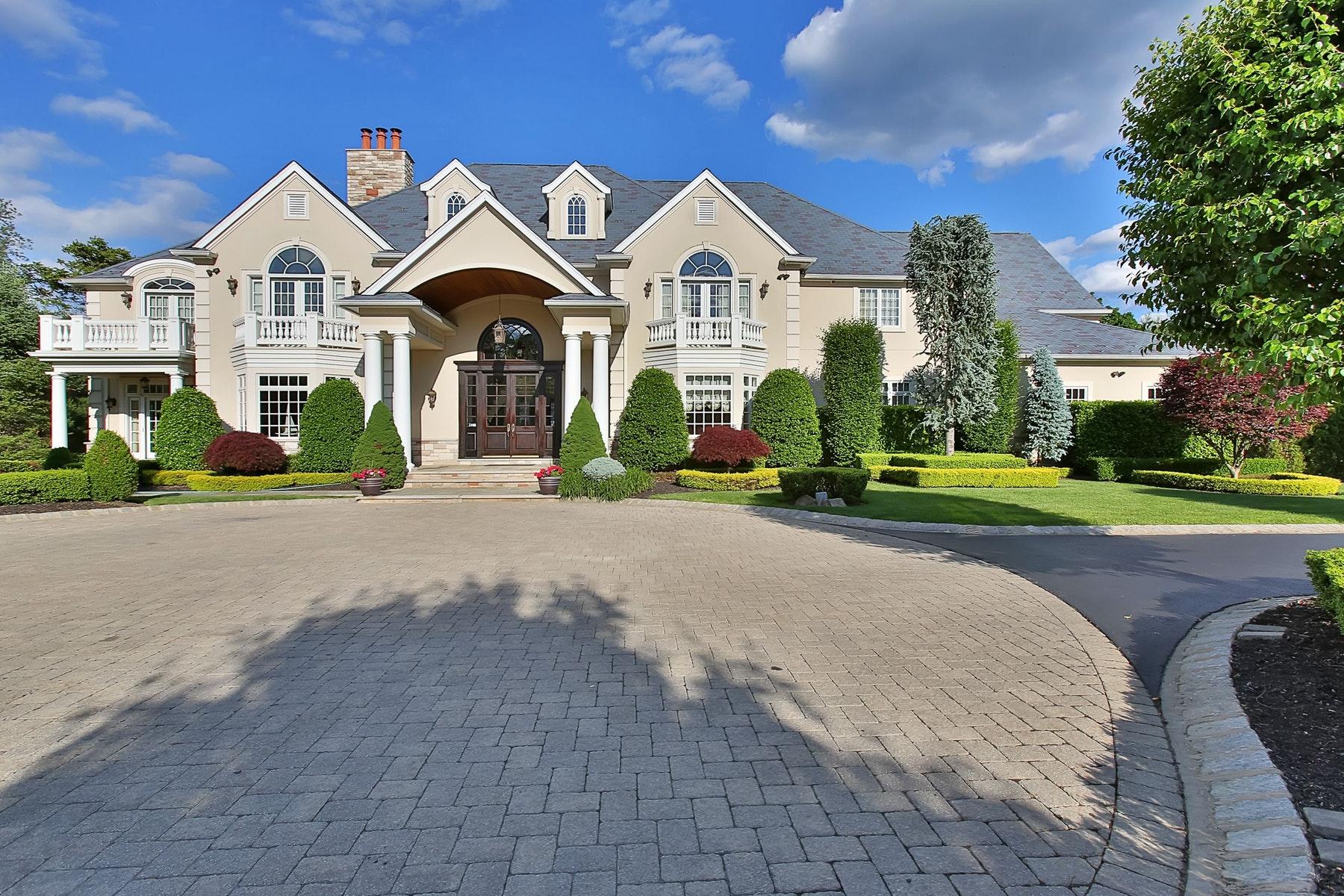 Single Family Homes por un Venta en Whipporwill Valley Estate 15 Whipporwill Valley Rd., Middletown, Nueva Jersey 07716 Estados Unidos