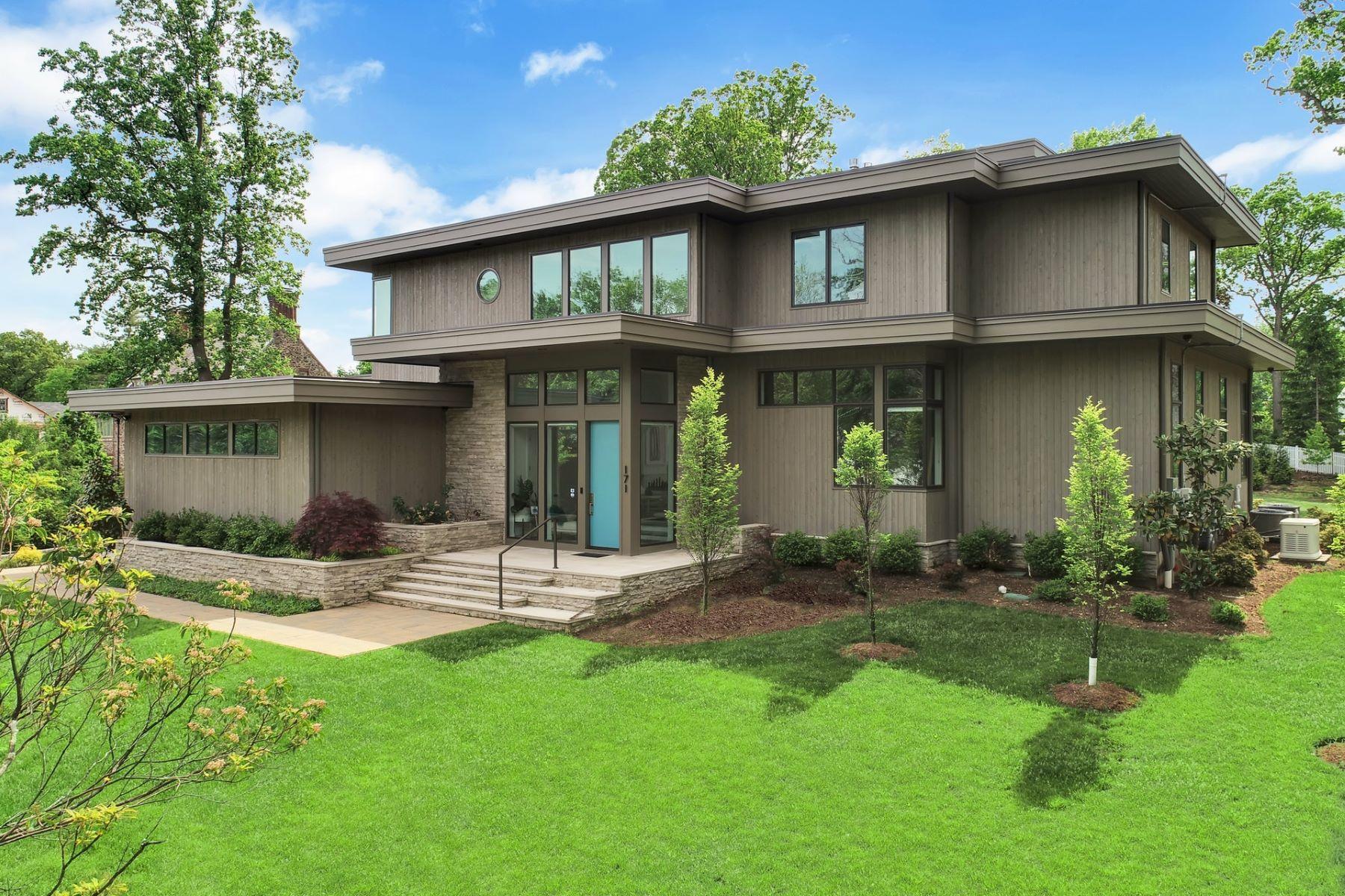 Single Family Homes 为 销售 在 Modern Masterpiece 171 Highland Avenue, 肖特山, 新泽西州 07078 美国
