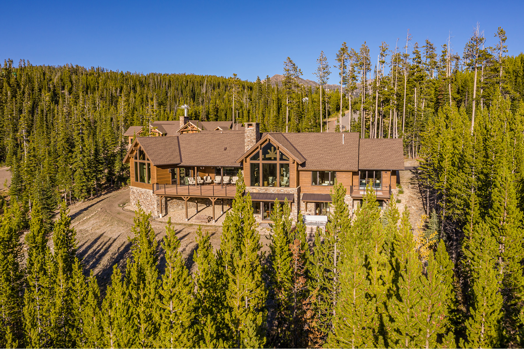 Single Family Homes for Sale at 24 Little Thunder Road Big Sky, Montana 59716 United States