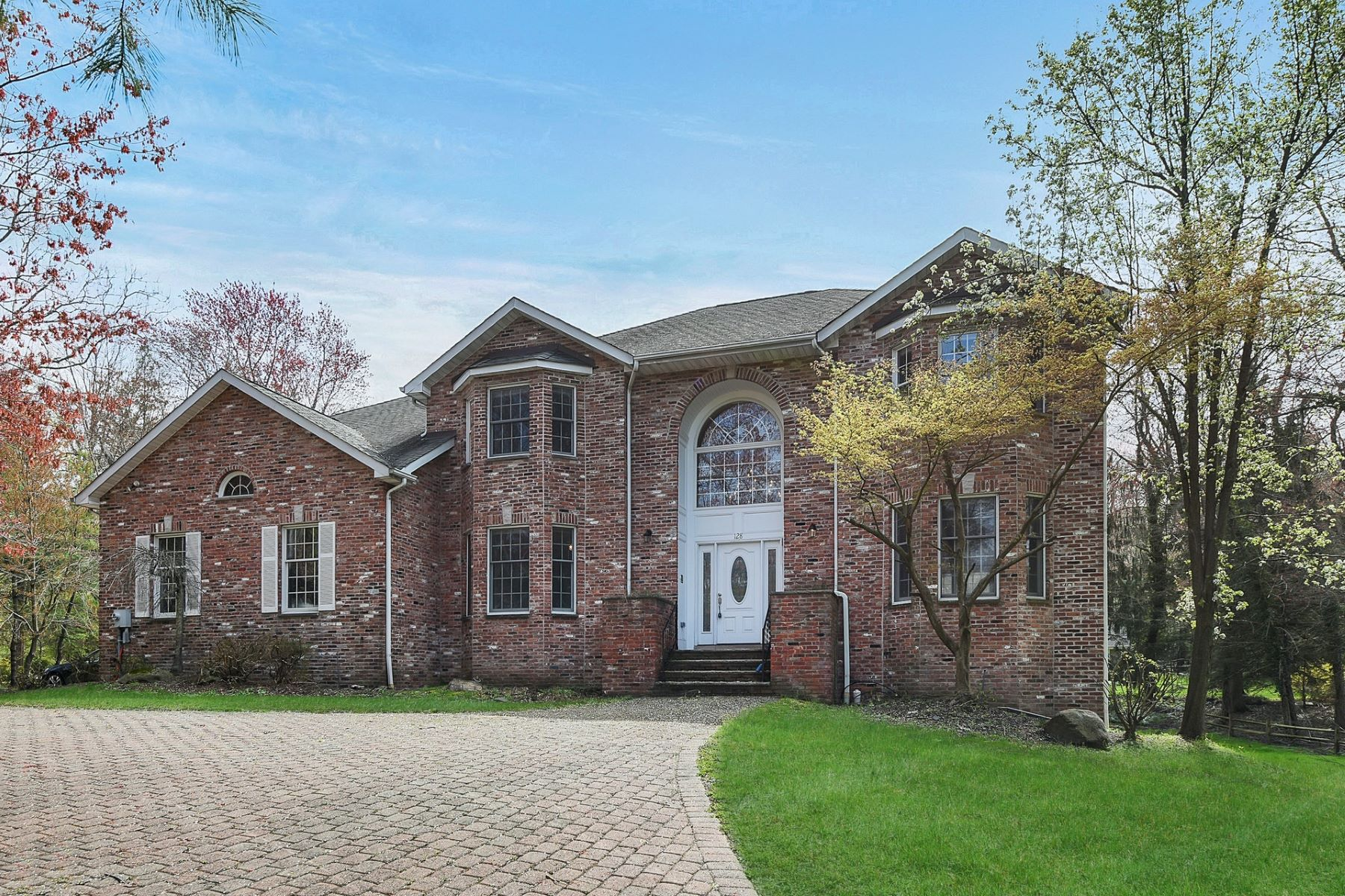 Single Family Homes for Sale at Impressive Center Hall Colonial 128 Anderson Ave, Demarest, New Jersey 07627 United States