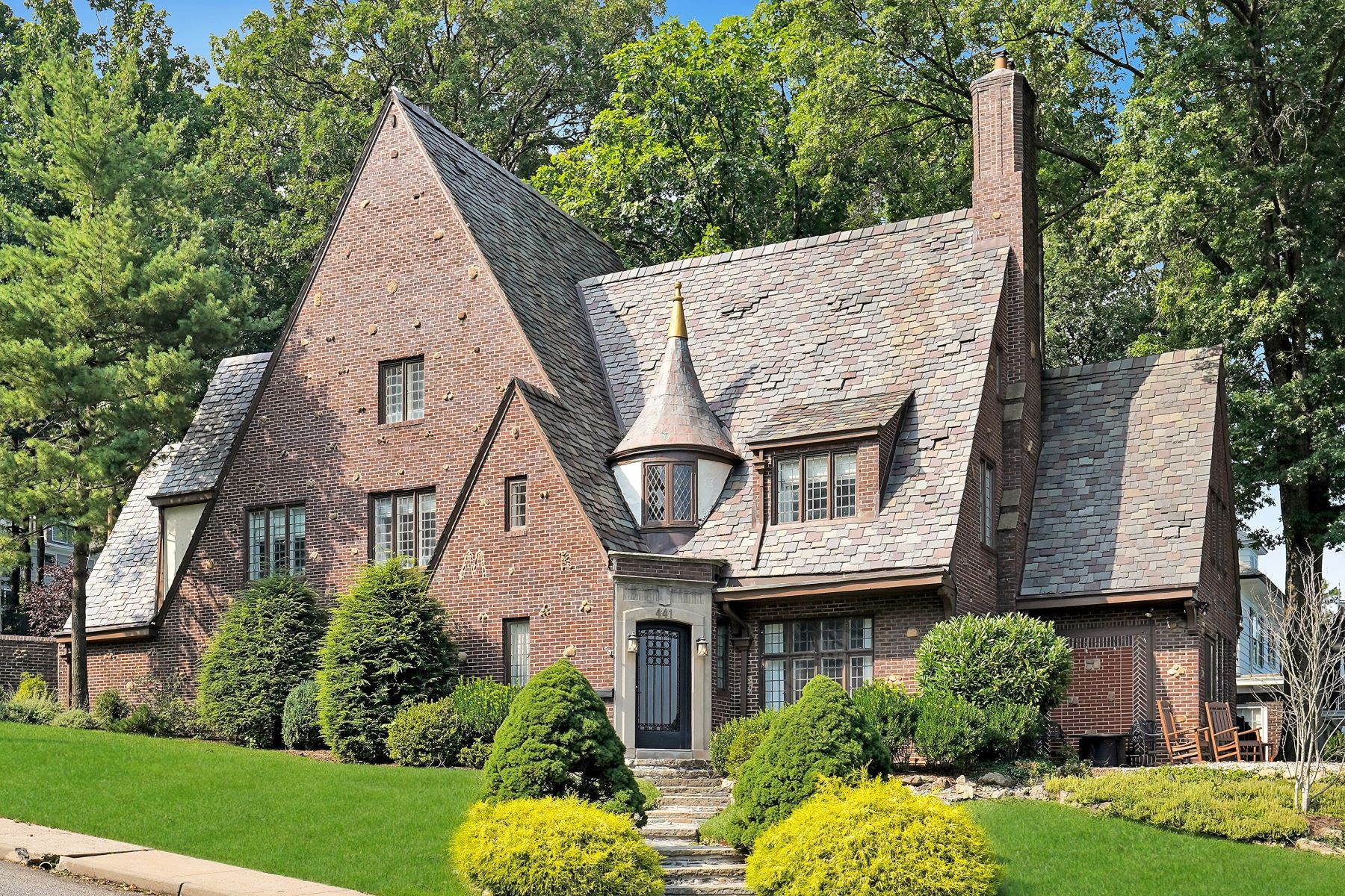 Single Family Homes for Sale at Iconic Tudor 441 Overhill Road, South Orange, New Jersey 07079 United States