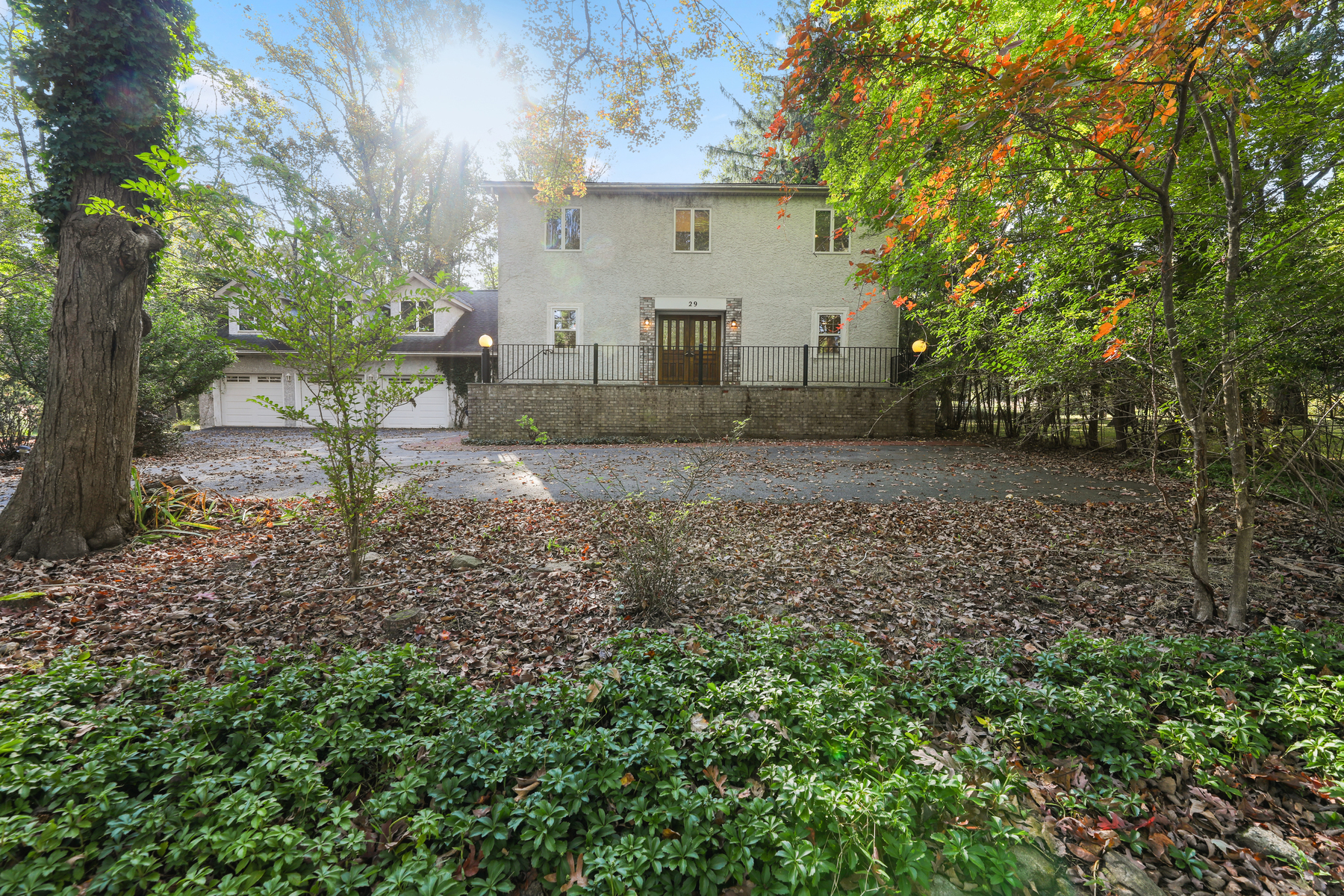 Single Family Homes for Sale at Private and Serene Setting 29 Cooper Lane, Chester, New Jersey 07930 United States