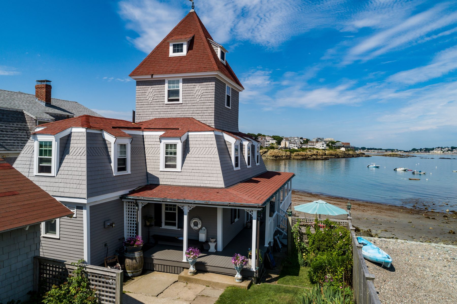 Single Family Homes for Sale at 34 Gunrock Avenue Hull, Massachusetts 02045 United States