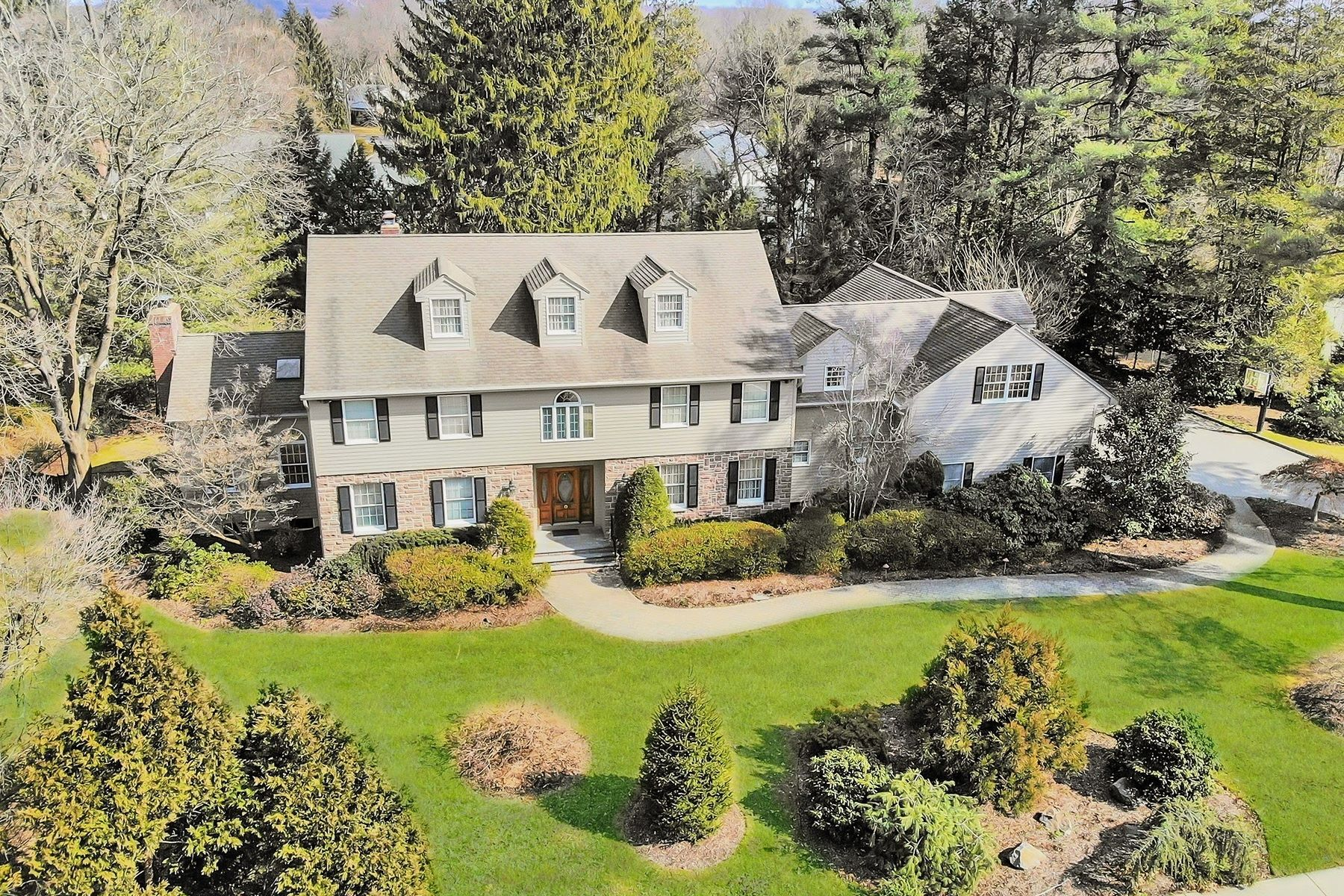 Single Family Homes for Sale at Elegant & Stately East Hill 206 County Rd, Demarest, New Jersey 07627 United States