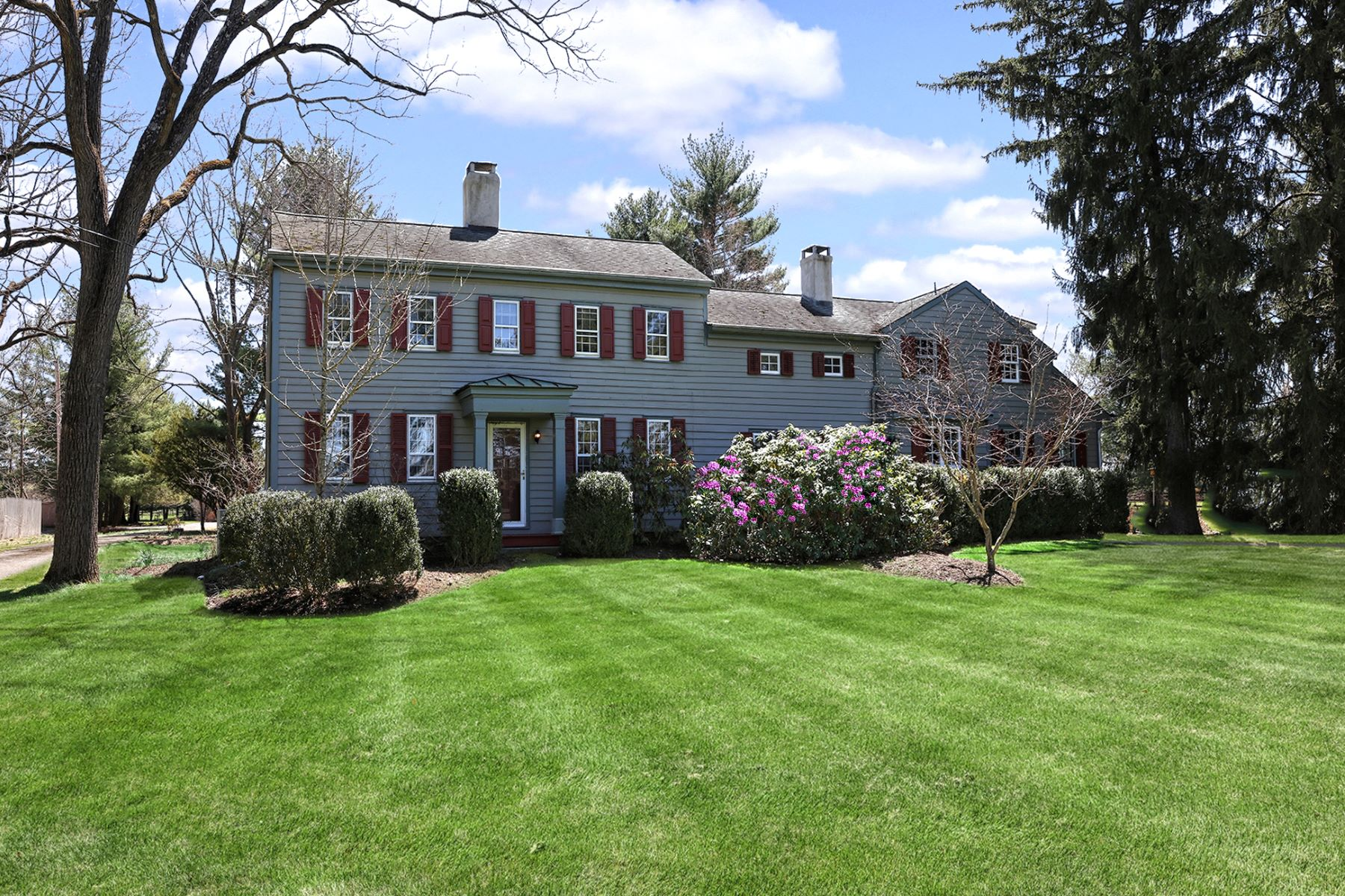 Single Family Homes for Sale at Turn of The Century Re-invented 260 Wertsville Road, Ringoes, New Jersey 08551 United States