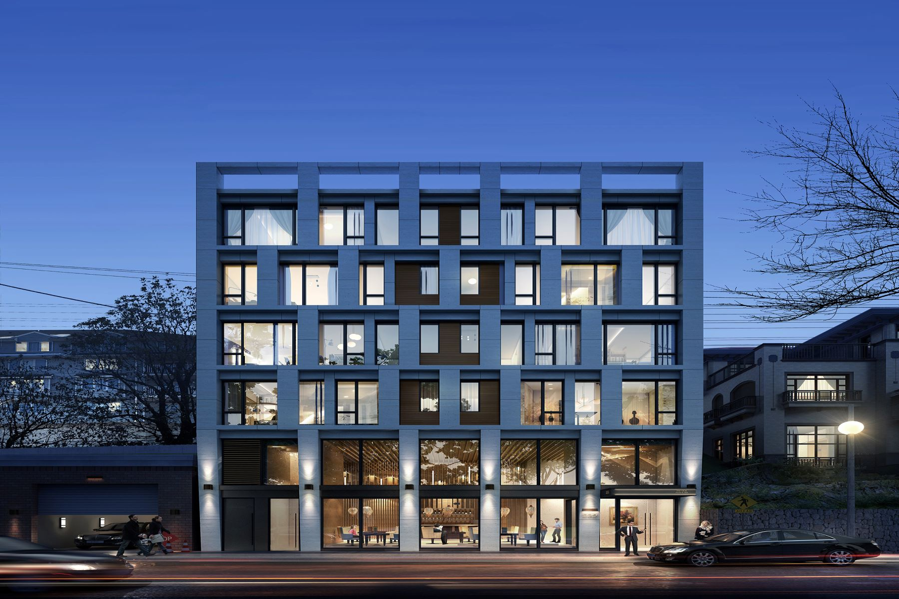 Condominiums for Sale at NEW CONSTRUCTION BUILDING! HOW ABOUT TO OWN A BOUTIQUE BUILDING. 232 Old River Road, Edgewater, New Jersey 07020 United States