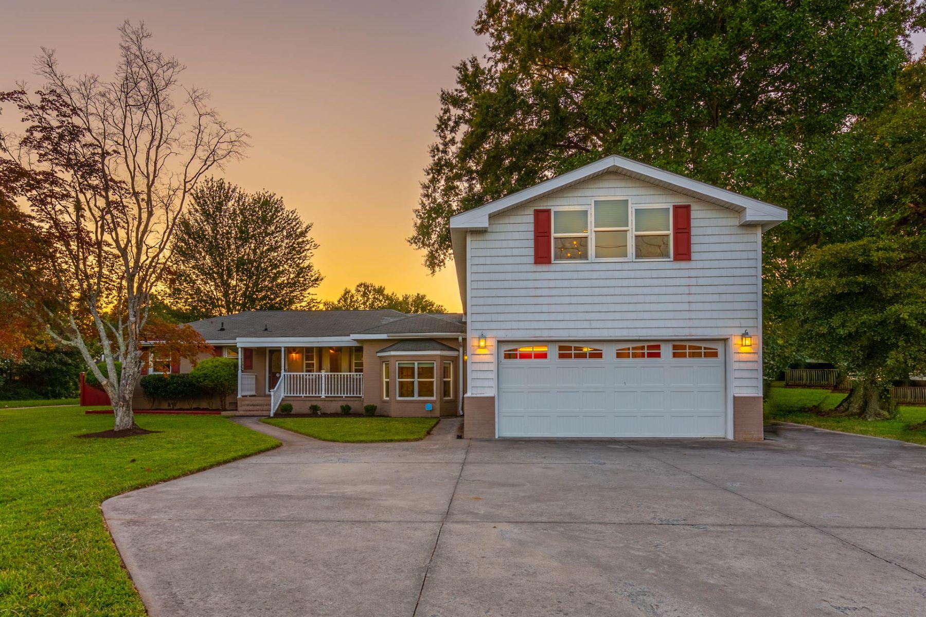 Single Family Homes för Försäljning vid Briarwood 716 Johnstown Road, Chesapeake, Virginia 23322 Förenta staterna