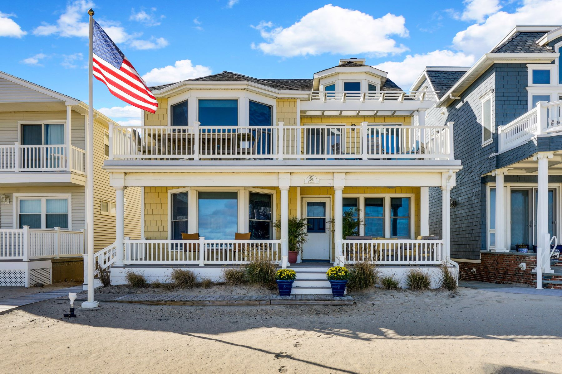 Single Family Homes for Sale at Manasquan Beachfront Compound 385 Beachfront, Manasquan, New Jersey 08736 United States