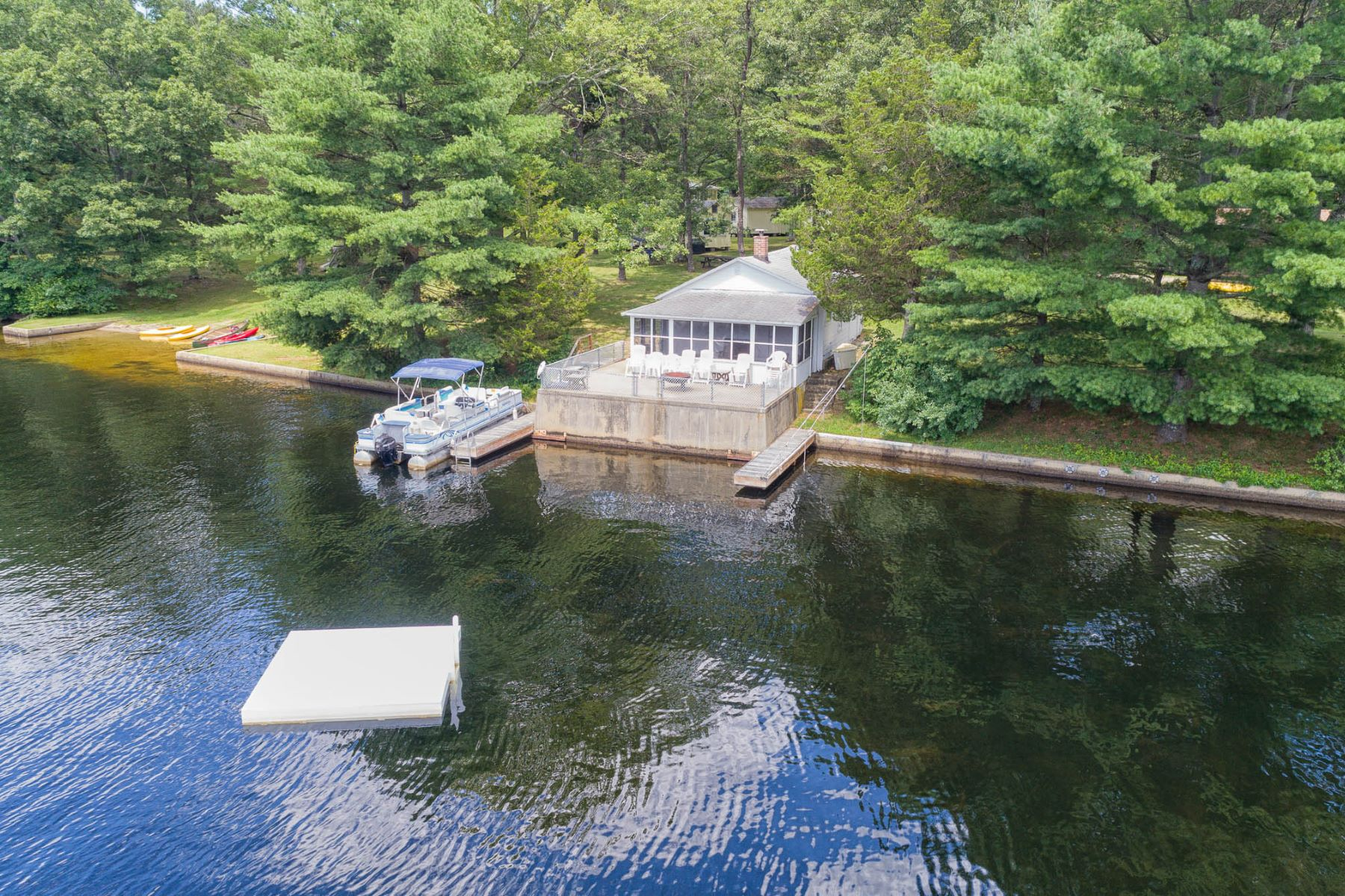 Single Family Homes for Sale at 118 North Shore Road, Voluntown, CT 118 North Shore Road Voluntown, Connecticut 06384 United States