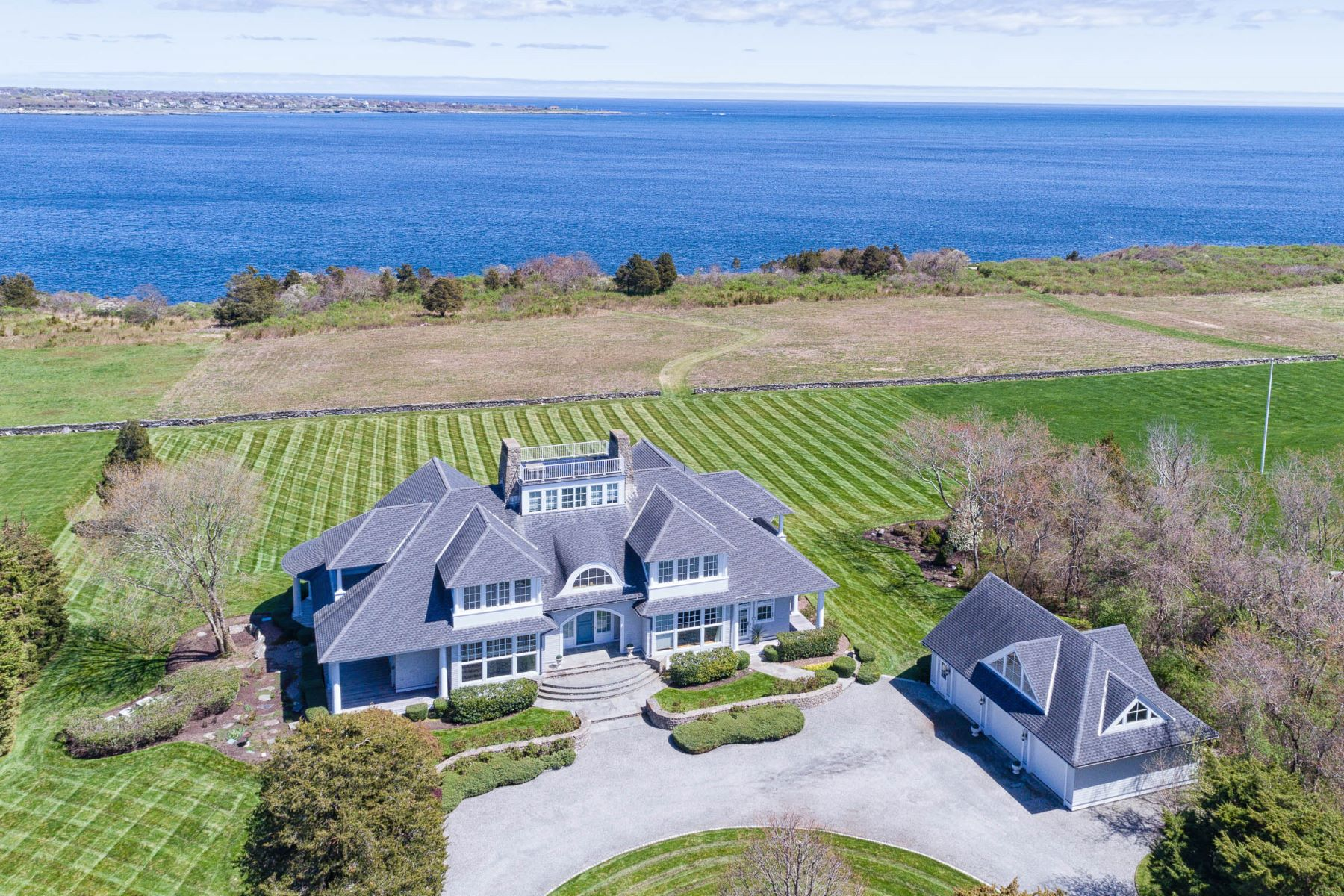 Single Family Homes for Sale at 597 Beavertail Road, Jamestown, RI 597 Beavertail Road Jamestown, Rhode Island 02835 United States