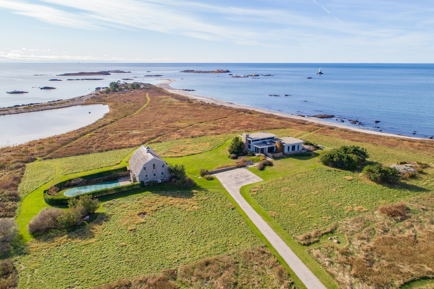 Single Family Homes for Sale at 1 Ohio Road, Little Compton, RI 1 Ohio Road Little Compton, Rhode Island 02837 United States