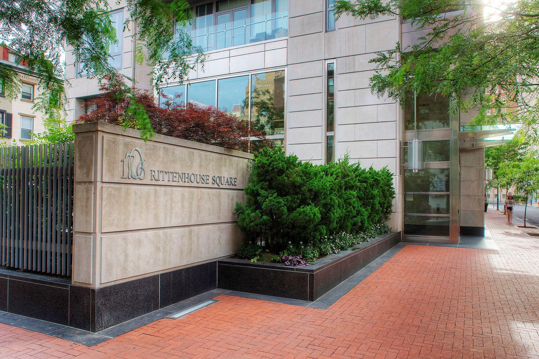 Condominiums 為 出售 在 1706 RITTENHOUSE SQ #2401, 2401, 费城, 賓夕法尼亞州 19103 美國