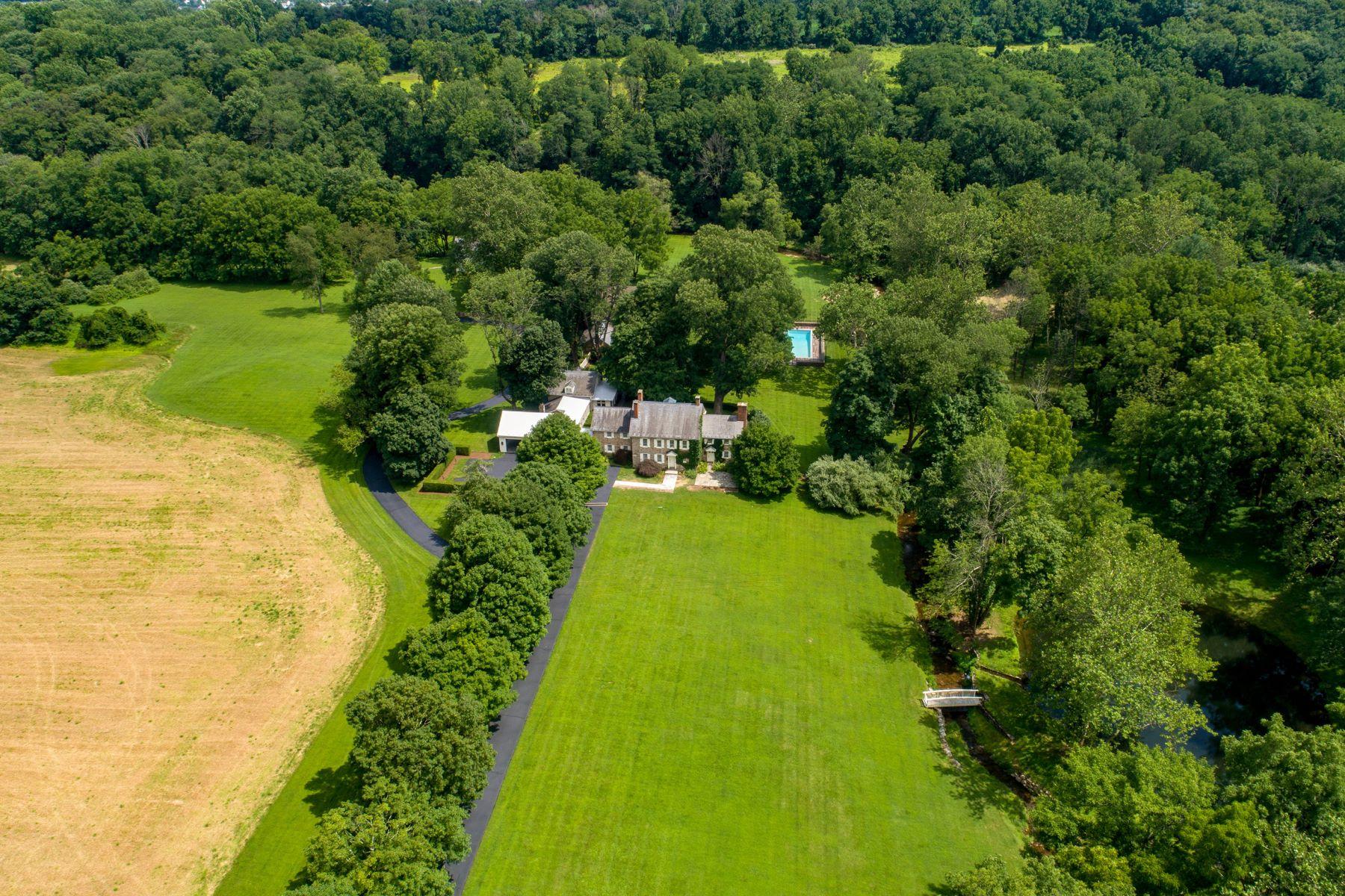 Single Family Homes για την Πώληση στο Finale Farm 6550 MEETINGHOUSE RD, New Hope, Πενσιλβανια 18938 Ηνωμένες Πολιτείες