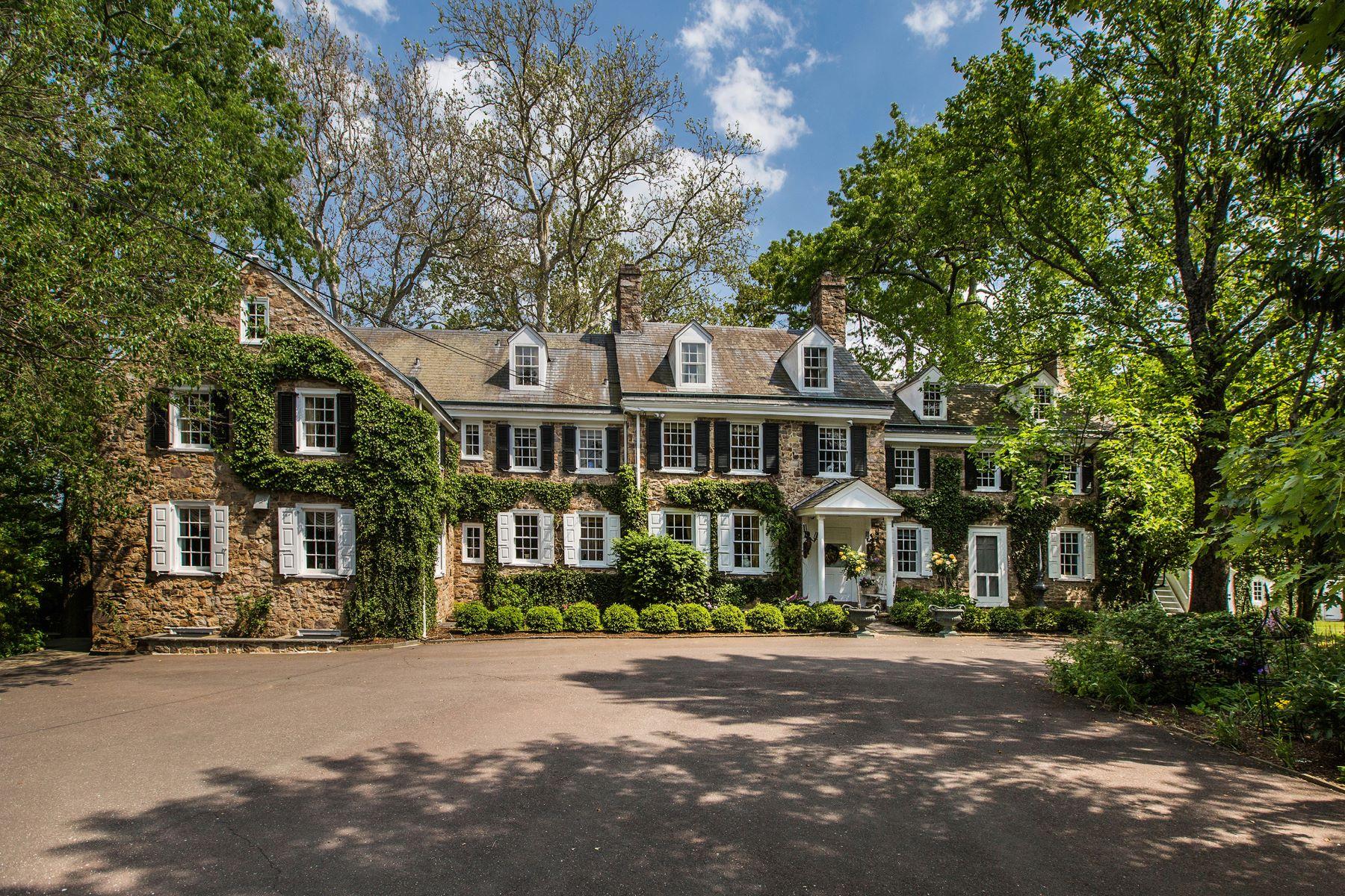 Single Family Homes για την Πώληση στο Elm Grove Farm 5453 YORK RD, New Hope, Πενσιλβανια 18938 Ηνωμένες Πολιτείες