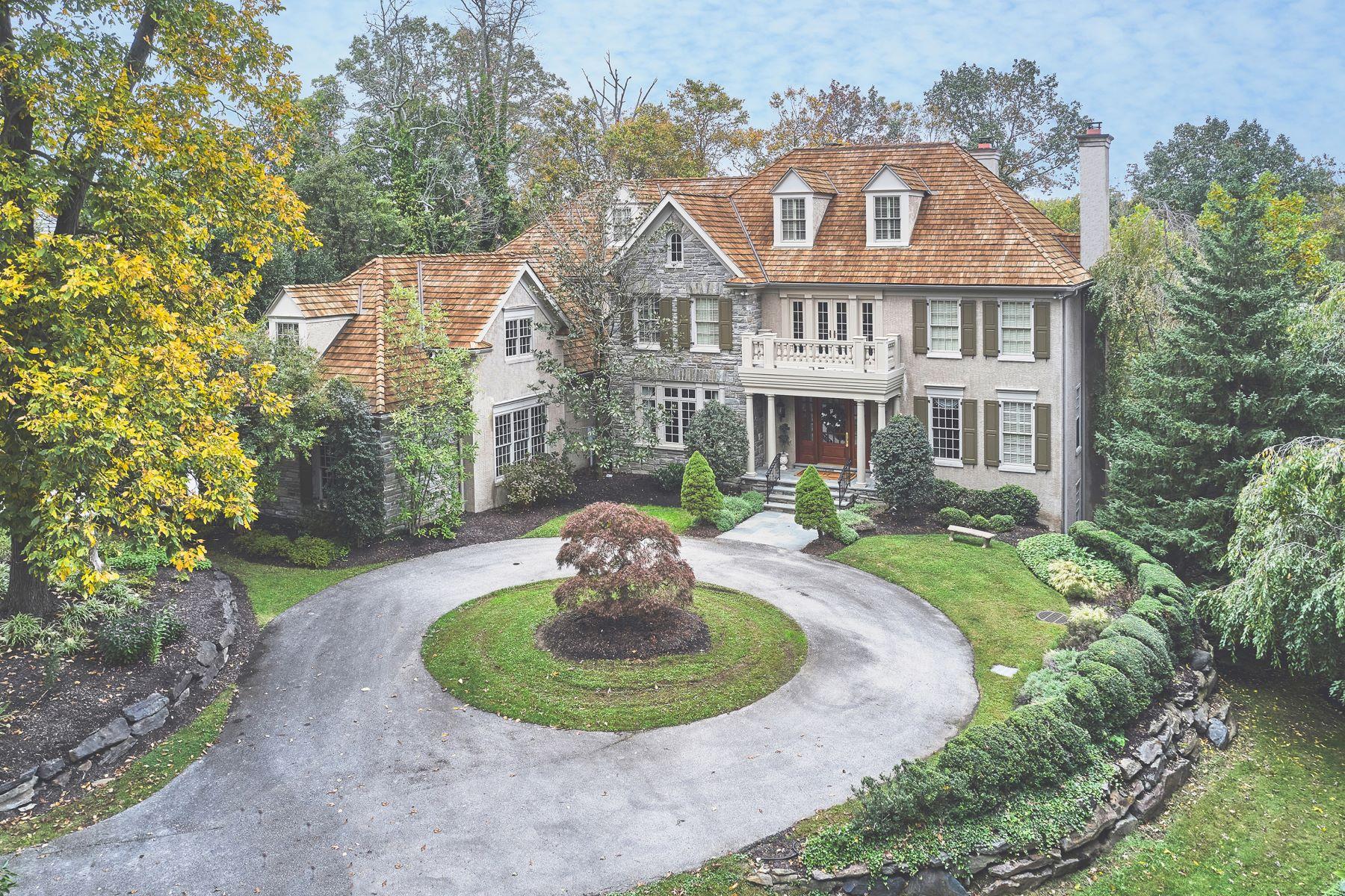 Single Family Homes للـ Sale في Newtown Square, Pennsylvania 19073 United States