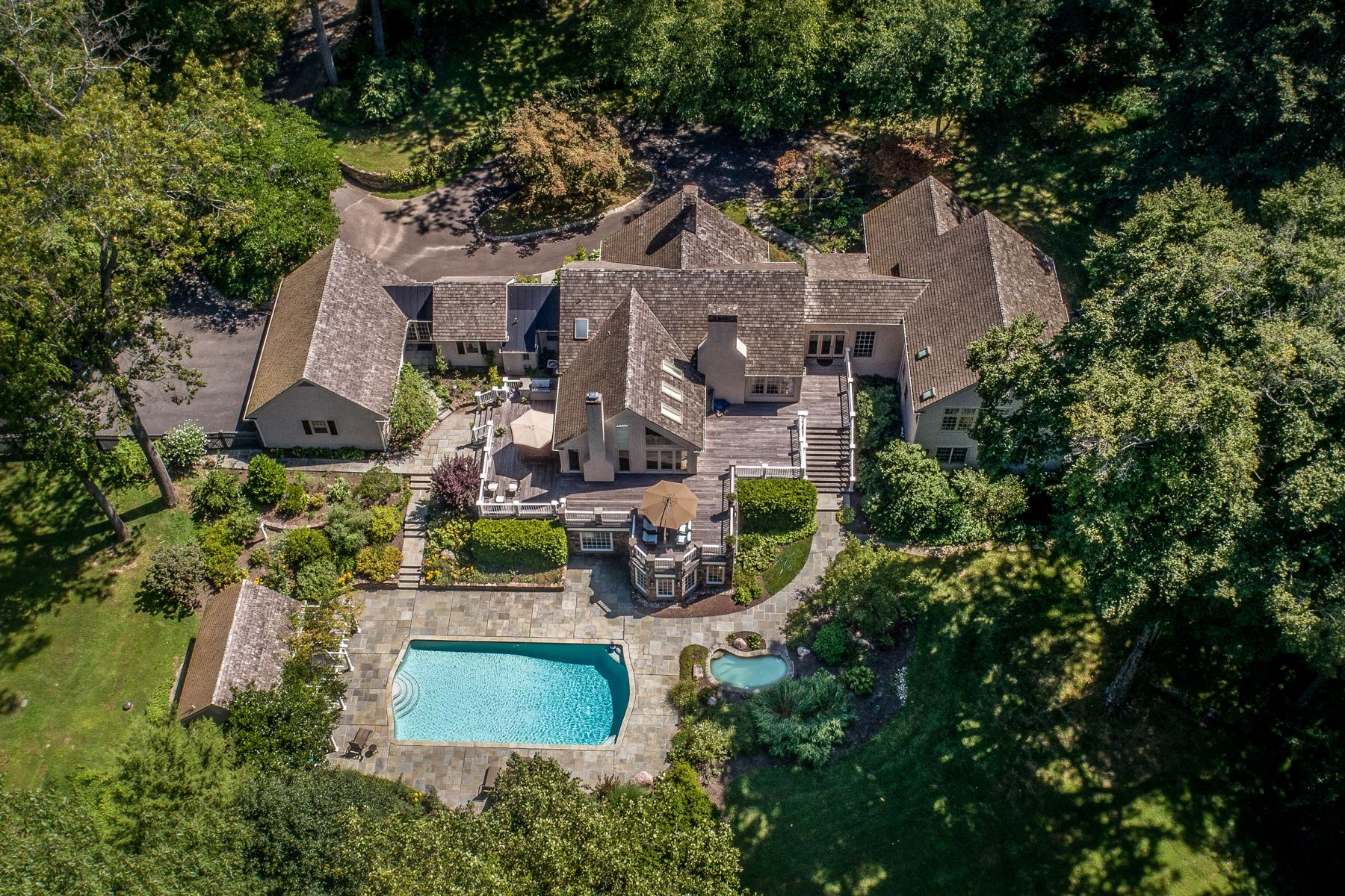 Single Family Homes for Sale at Perfectly Private Paradise 6731 PAXSON RD, New Hope, Pennsylvania 18938 United States