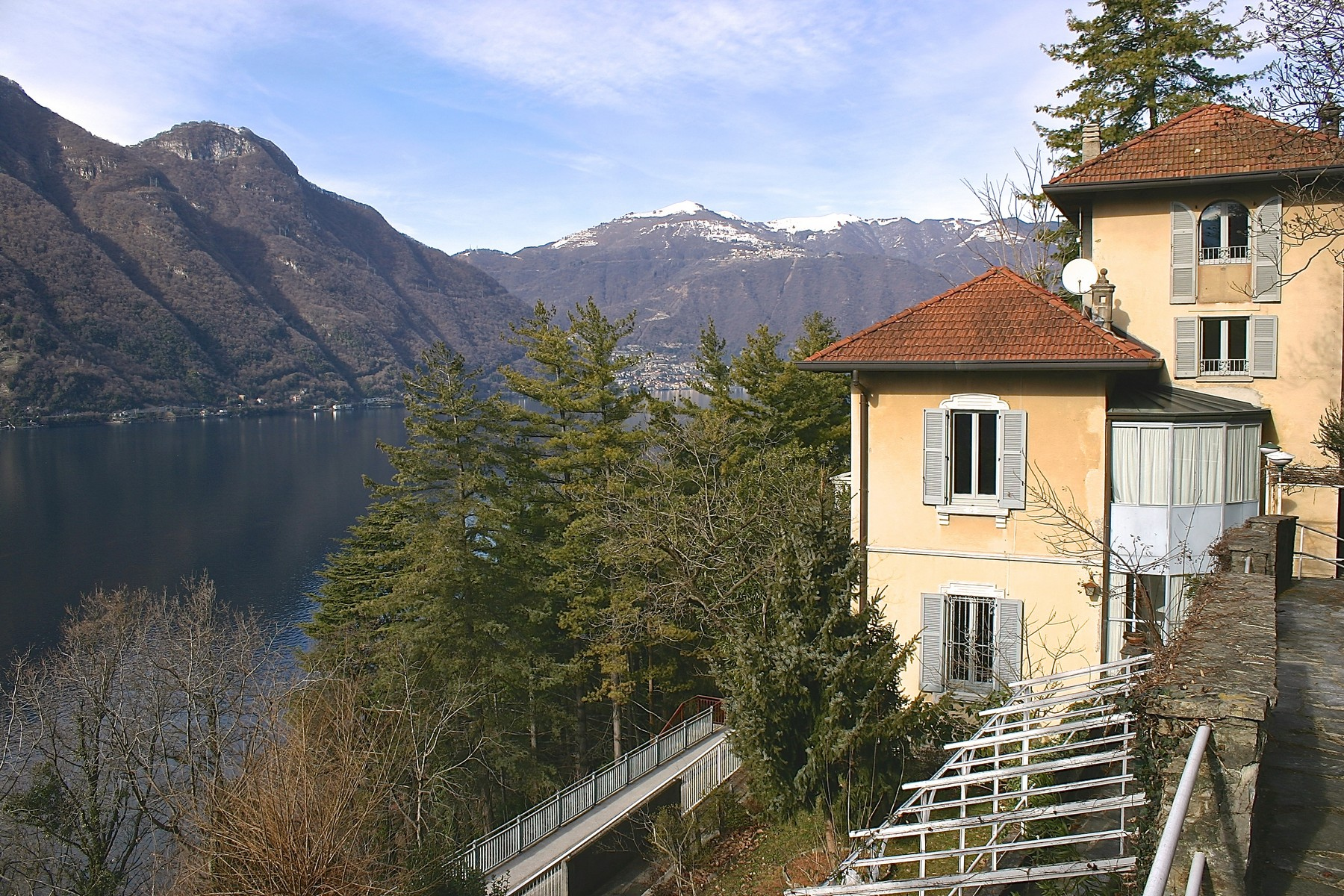 Property for Sale at Elegant period villa with splendid lakeviews Nesso, Como Italy