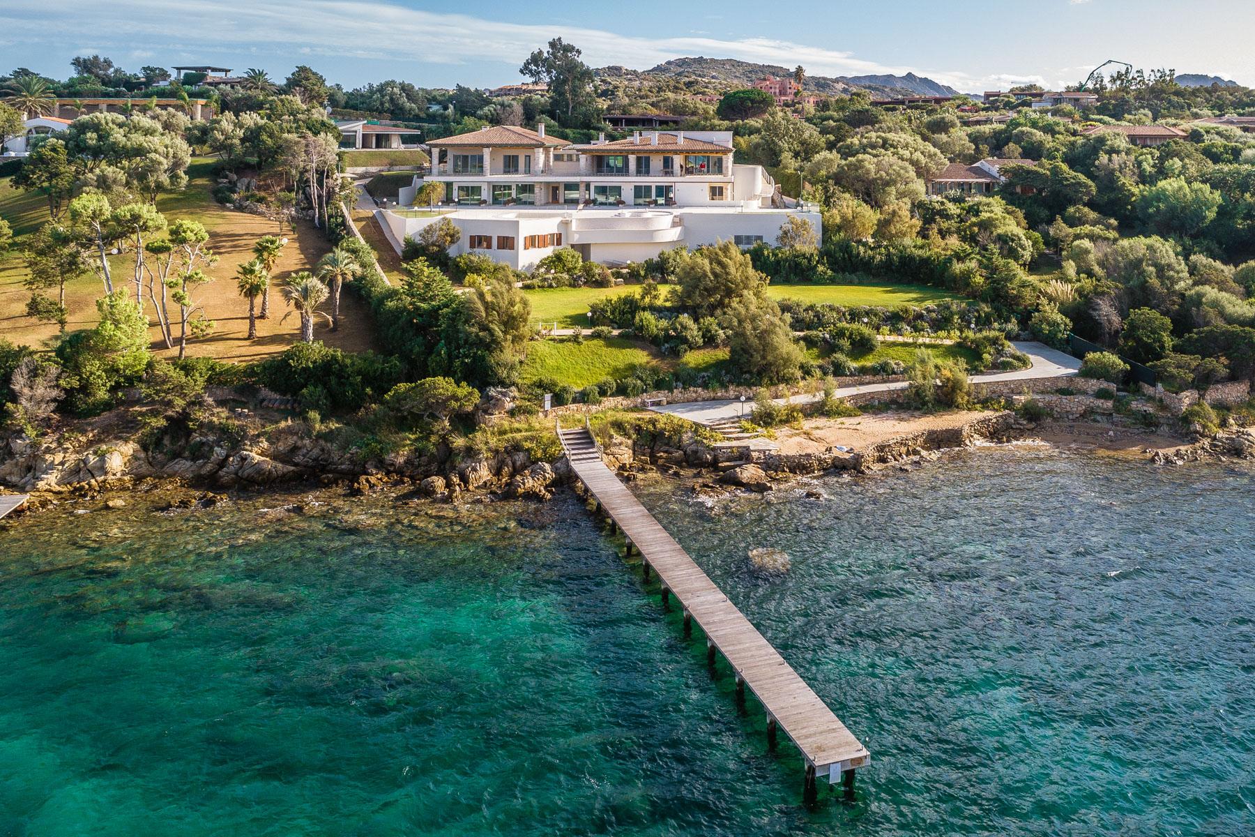 Other Residential Homes for Sale at Unique seafront villa in the Emerald Coast Porto Rotondo, Sassari Italy