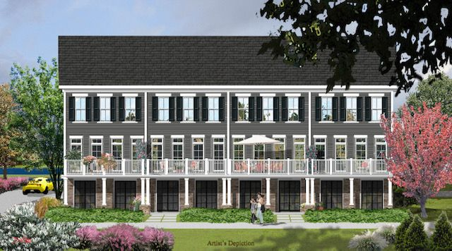 townhouses 為 出售 在 Luxury Townhome Living Along The Delaware 7 River Mills Drive, Frenchtown, 新澤西州 08825 美國