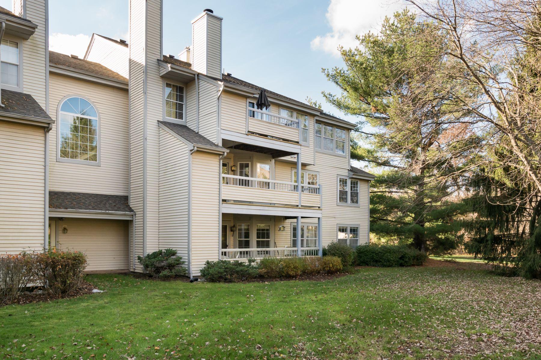 Condominiums 용 매매 에 Enjoy Lovely Views in Convenient Canal Pointe 302 Trinity Court #6, Princeton, 뉴저지 08540 미국