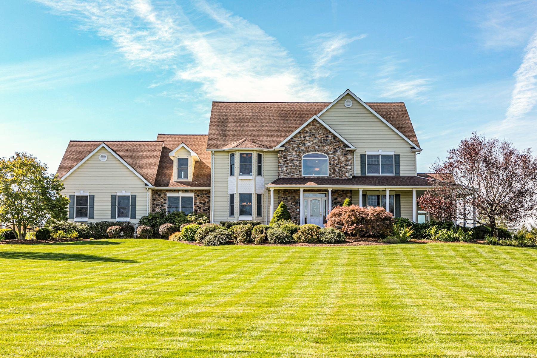 Single Family Homes vì Bán tại Custom Colonial With Valley Views 24 Runyon Mill Road, Ringoes, New Jersey 08551 Hoa Kỳ