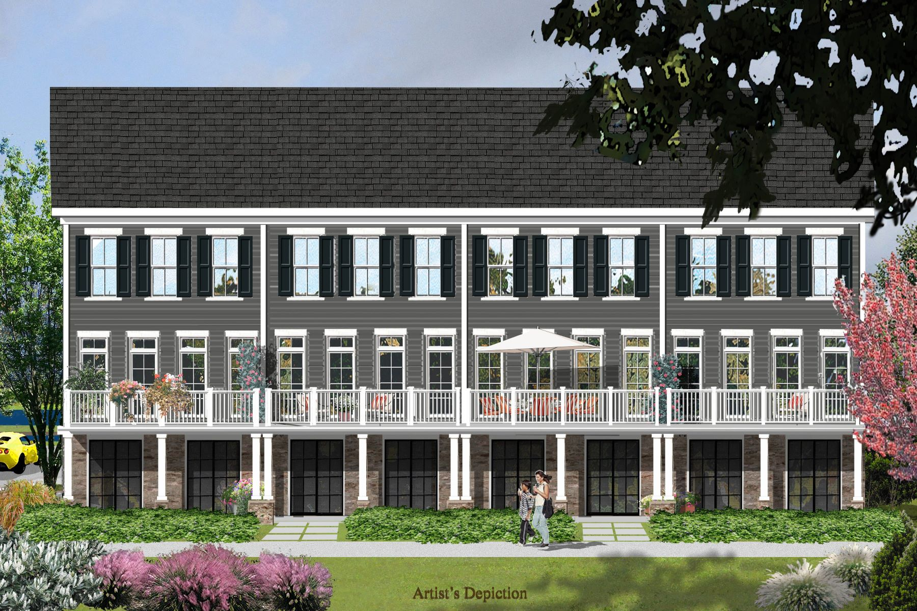 townhouses 為 出售 在 Luxury Townhome Living Along The Delaware 8 River Mills Drive, Frenchtown, 新澤西州 08825 美國