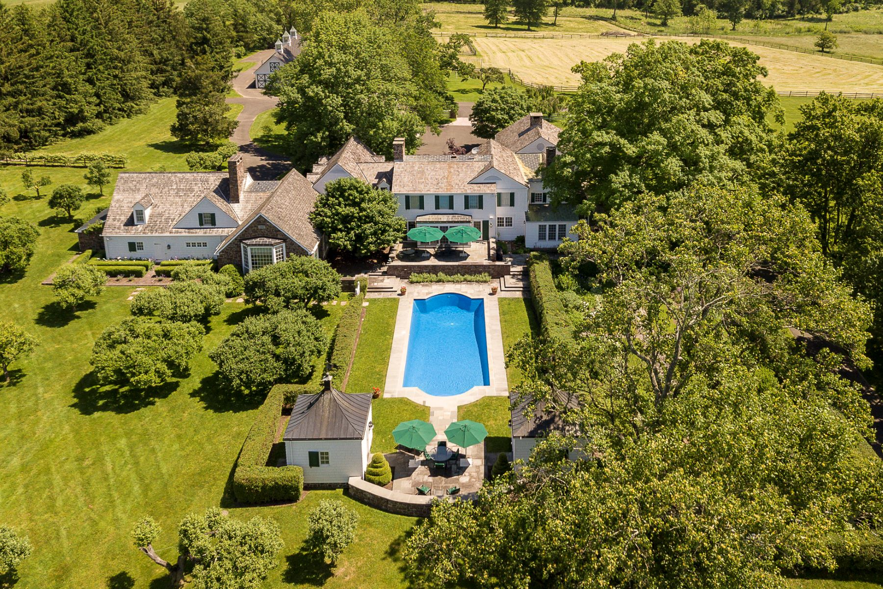 Single Family Homes للـ Sale في Green Valley Farm 286 Carter Road, Princeton, New Jersey 08540 United States