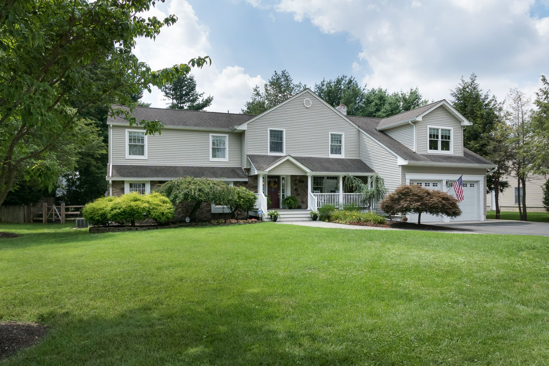 Single Family Homes for Sale at Truly Exceptional Design with a Poolside Oasis 513 Village Road West, Princeton Junction, New Jersey 08550 United States