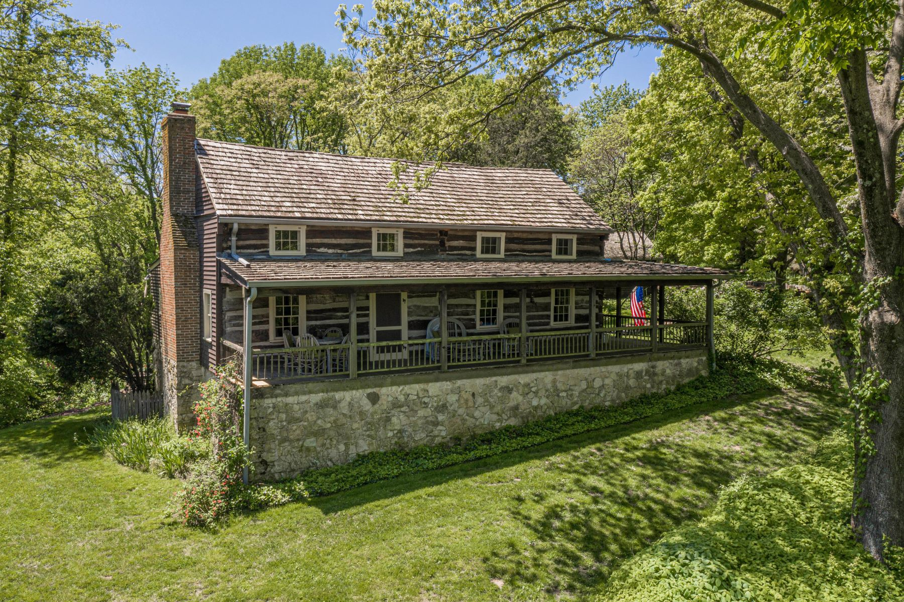 Single Family Homes for Sale at Enchanting Log Cabin Compound 984 Charrette Lane Washington, Missouri 63090 United States