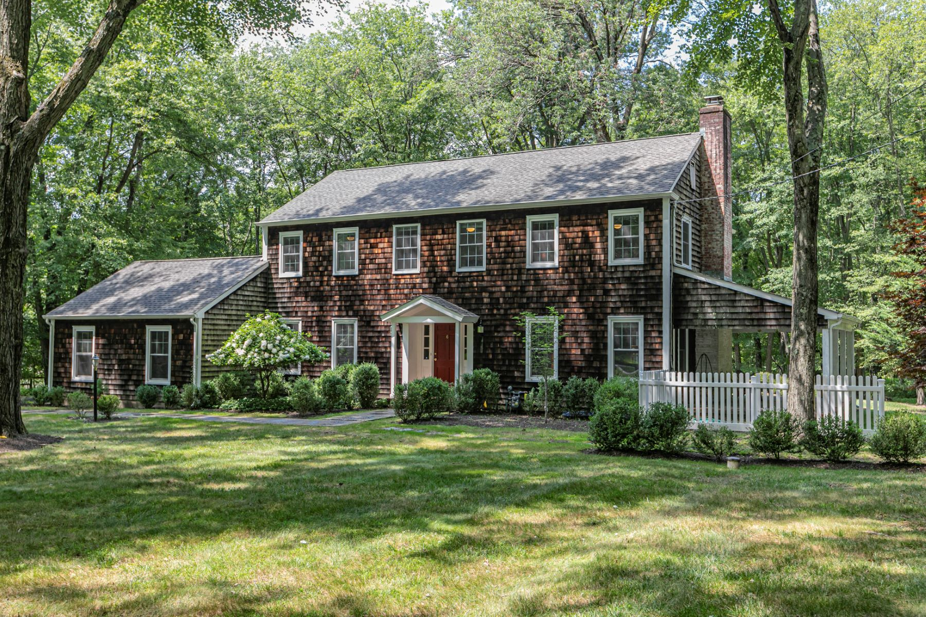 Single Family Homes for Sale at Move-In Ready, Completely Updated In Old Elm Ridge Park 6 Cedar Brook Terrace, Princeton, New Jersey 08540 United States